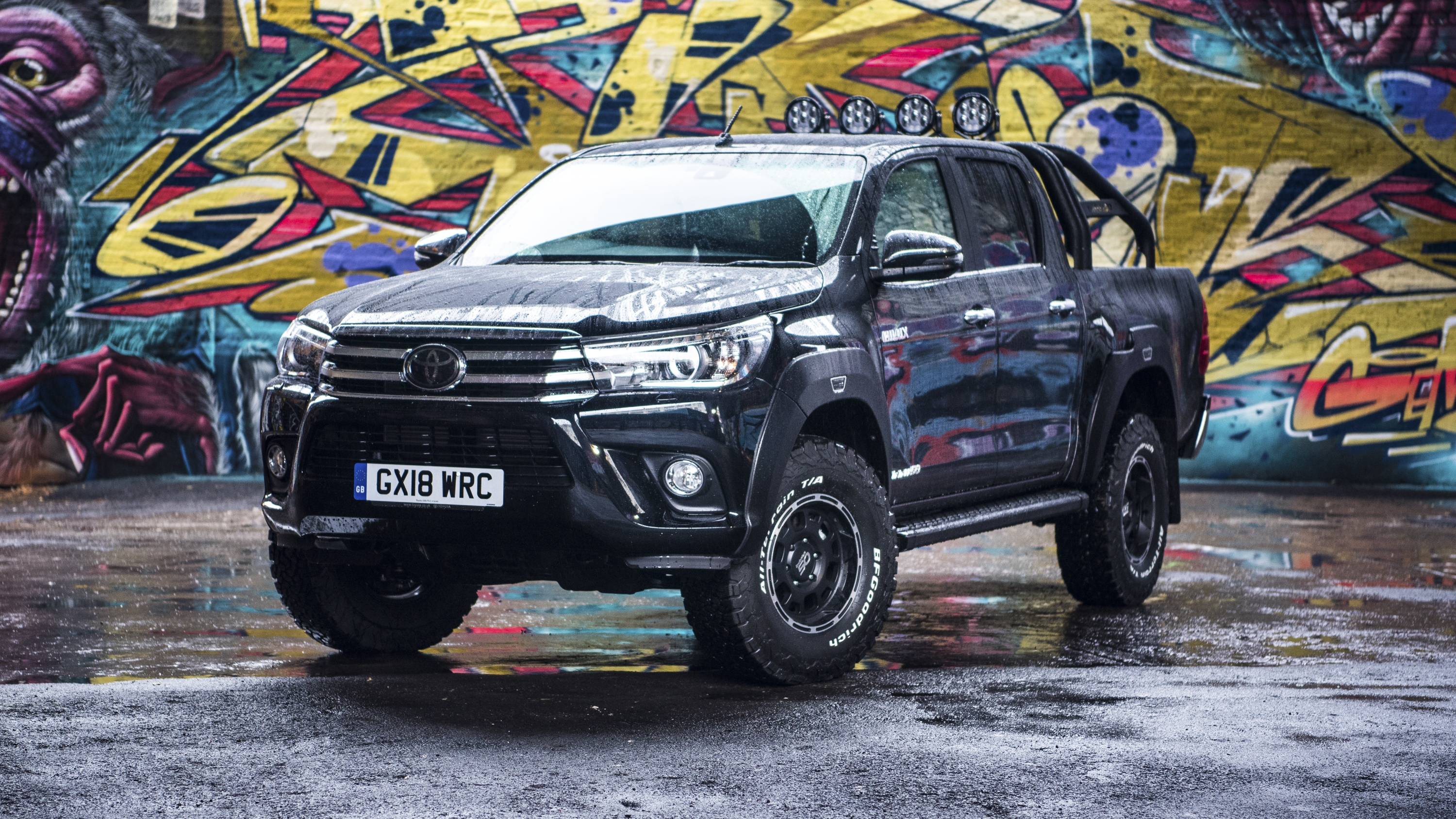 2018 Toyota Hilux Invincible 50 Top Speed
