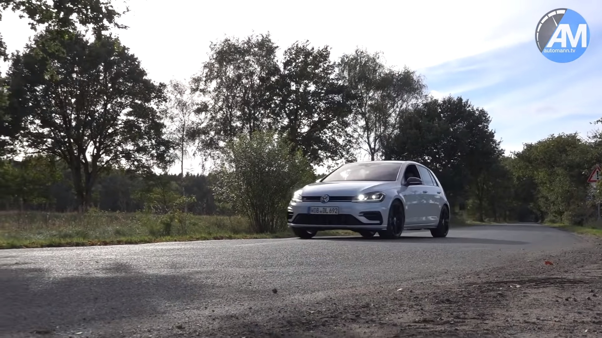 Watch A Golf 7 R Performance Pack Max Out At 163 Mph