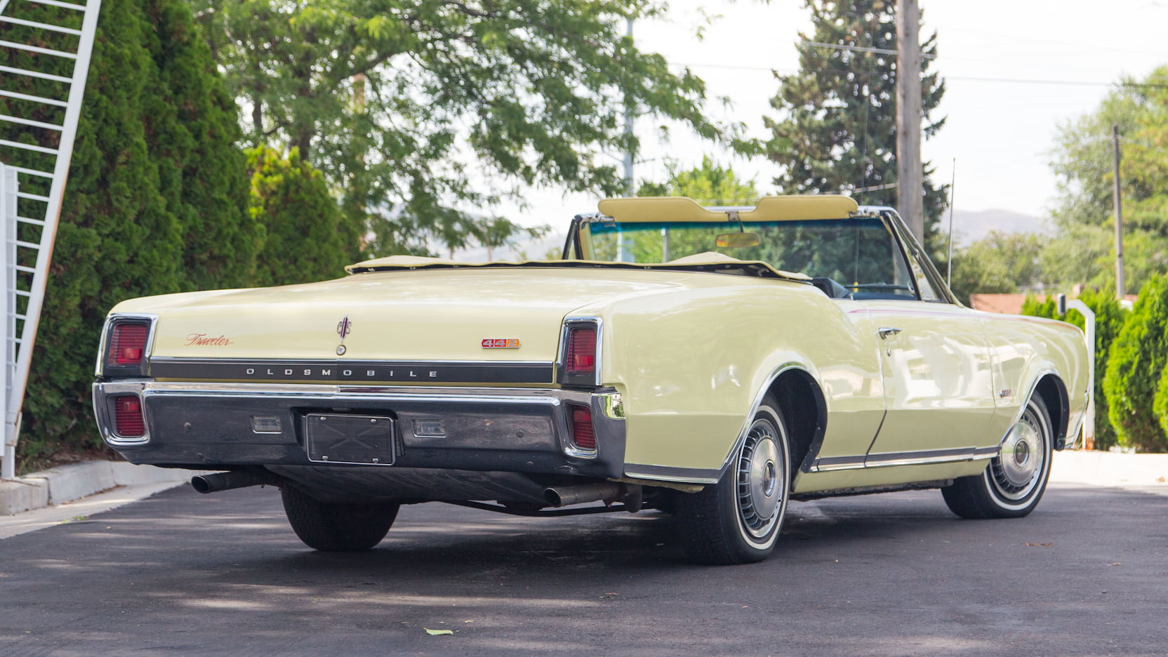 1967 Oldsmobile 442 Convertible Top Speed Producing More Engine Power How Car Engines Work Howstuffworks