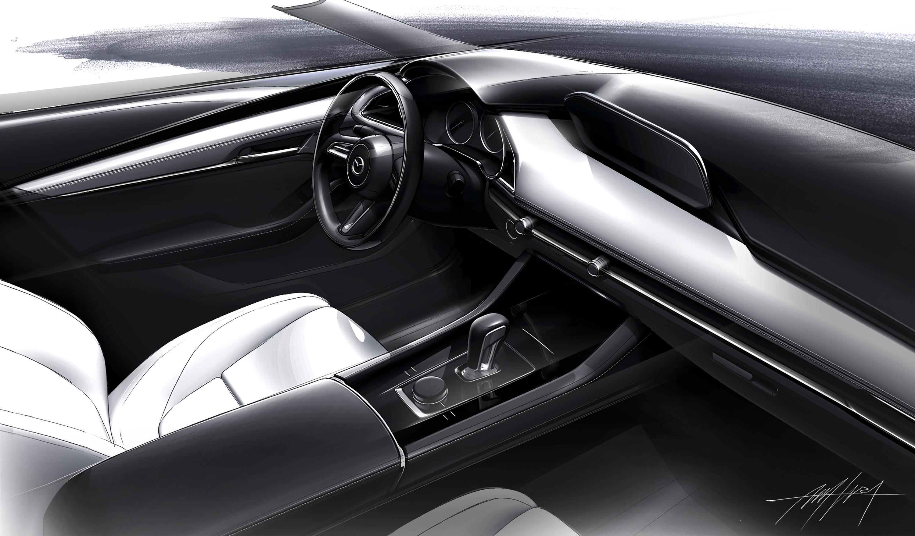 Mazda3 Moves Up The Premium Ladder With Gorgeous Interior New