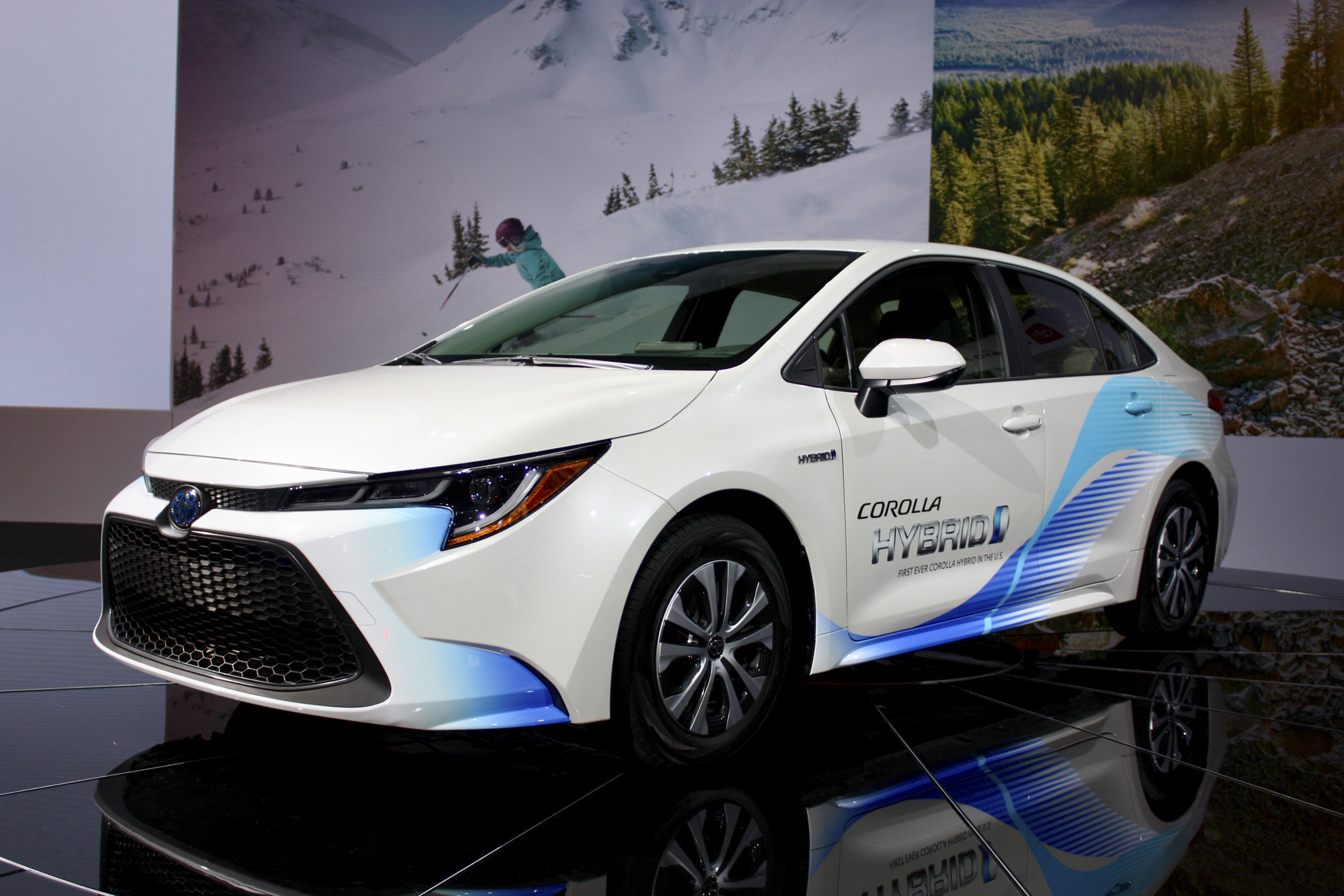 The 2020 Toyota Corolla Hybrid Gives You Prius Fuel Economy
