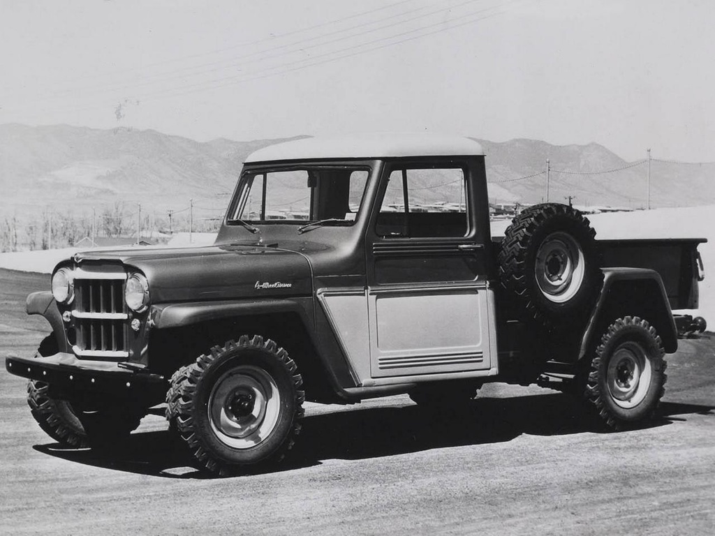 The Long Illustrious History Of Jeep Pickup Trucks Top Speed 1950 Willys Pick Up