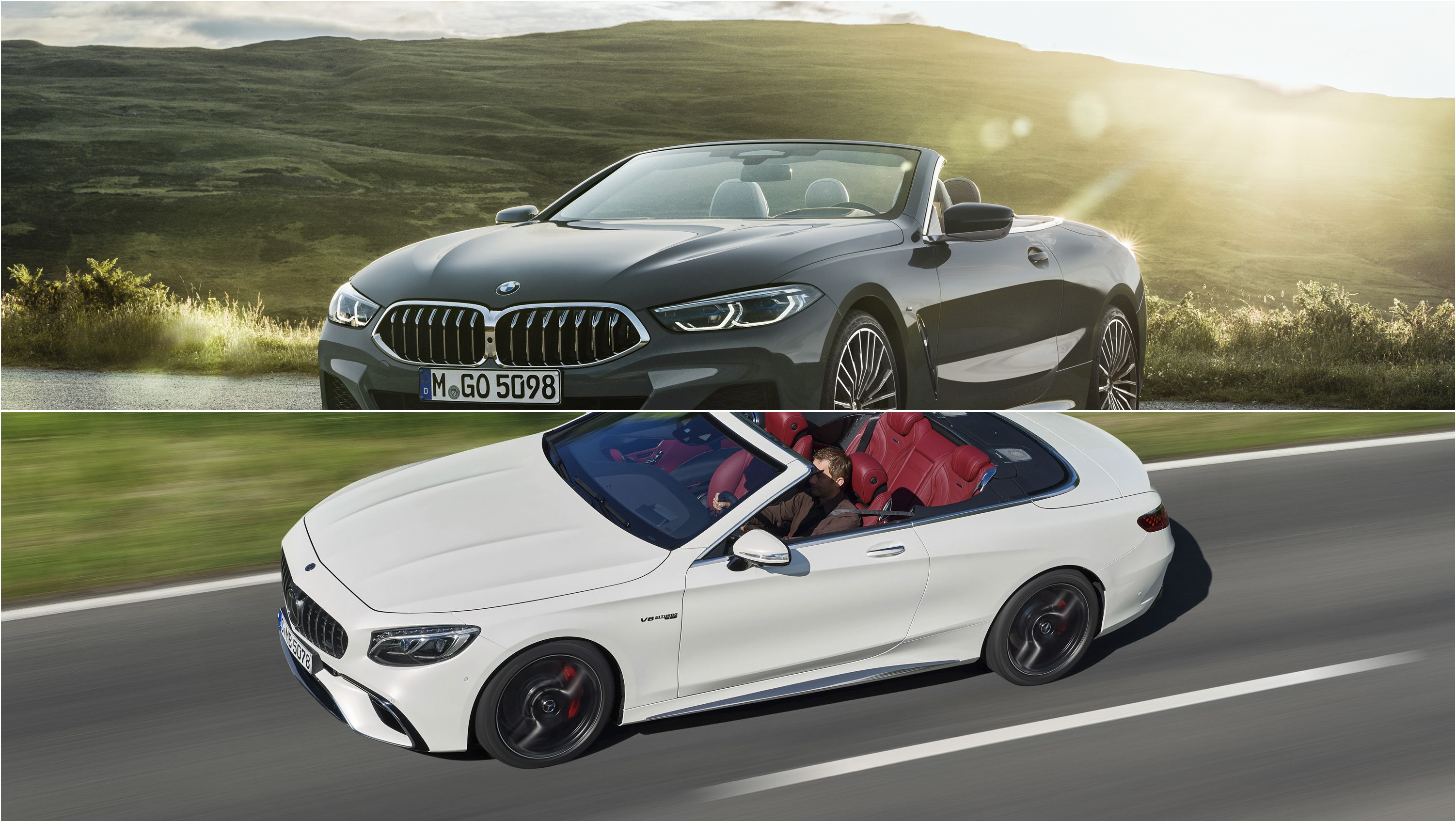 2019 Bmw 8 Series Convertible Vs 2019 Mercedes Amg S63 Cabriolet