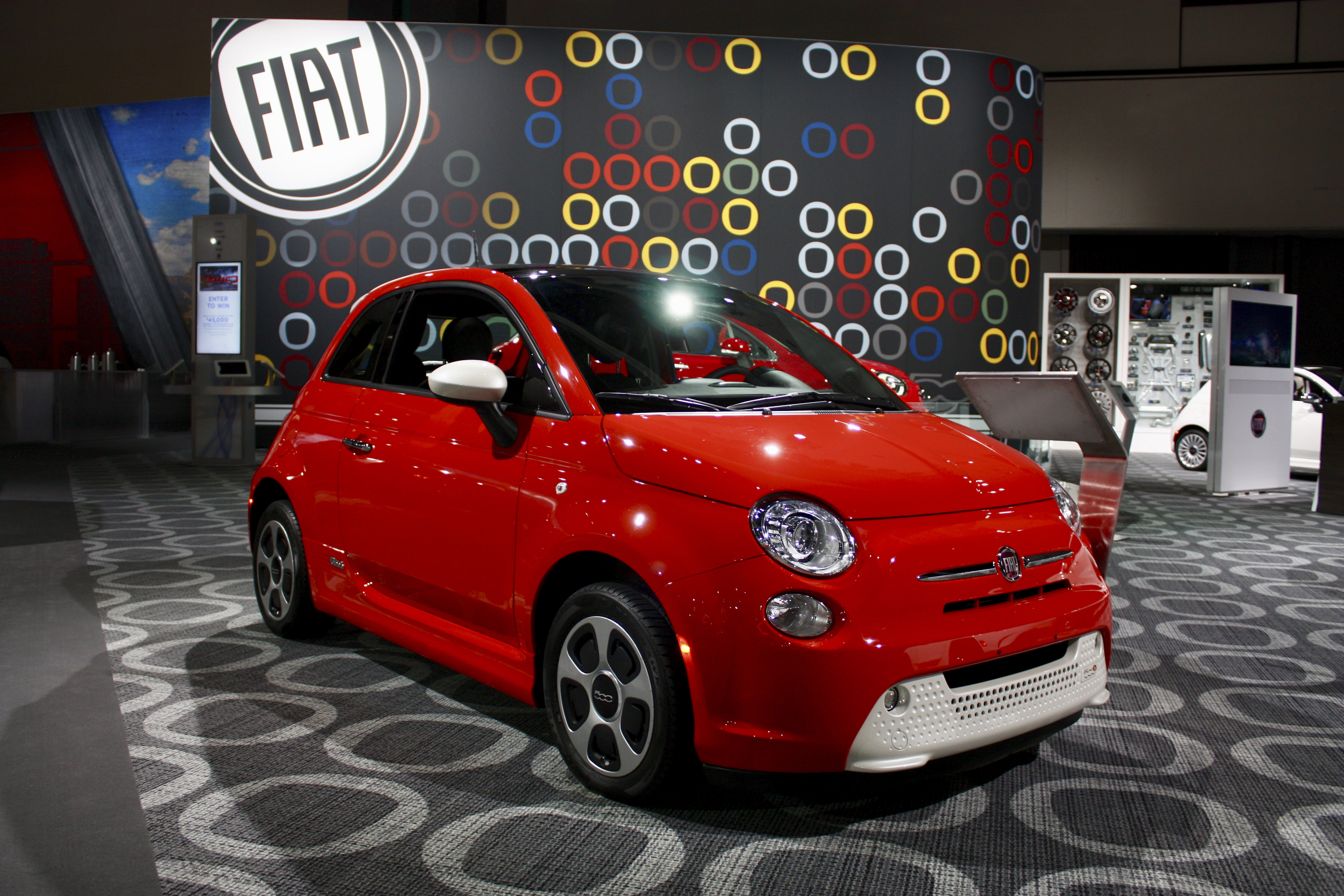 2019 Fiat 500e Top Speed