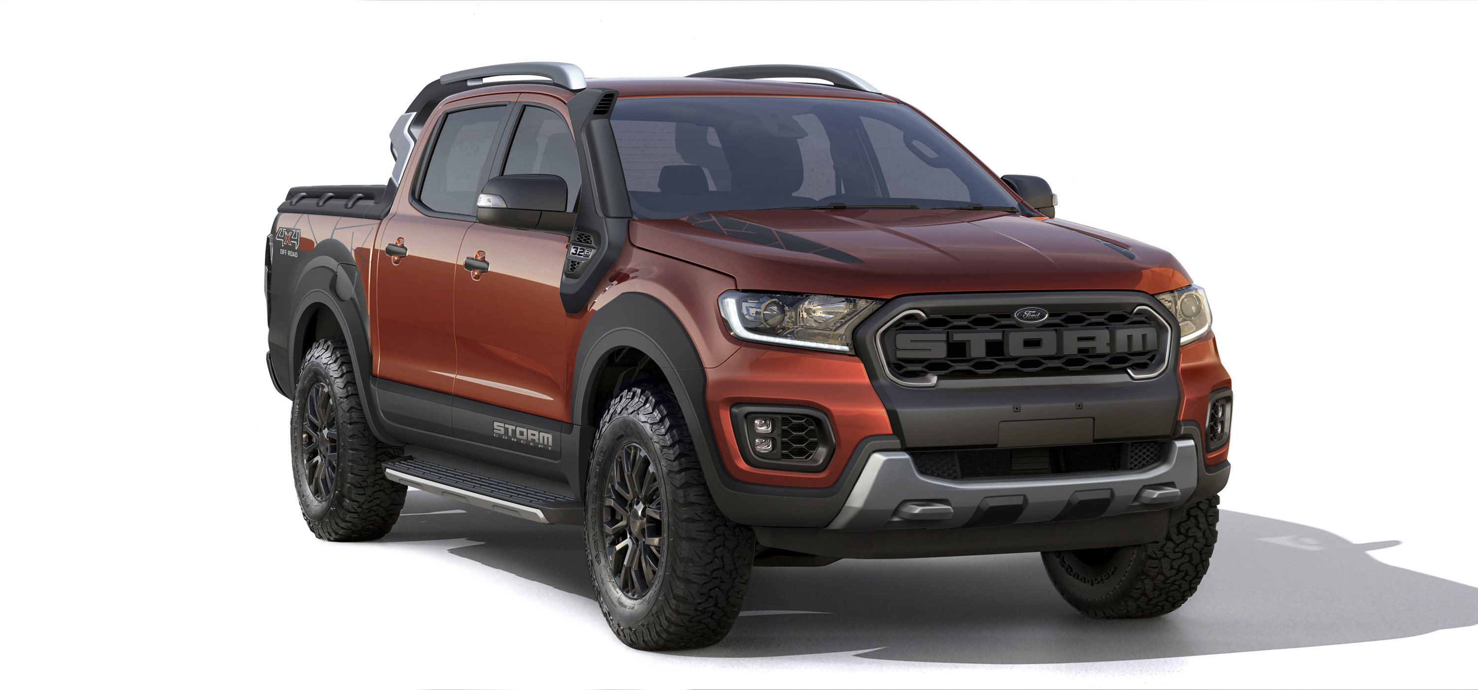 2018 Ford Ranger Storm Concept And Ford Ranger Black Edition Top Speed