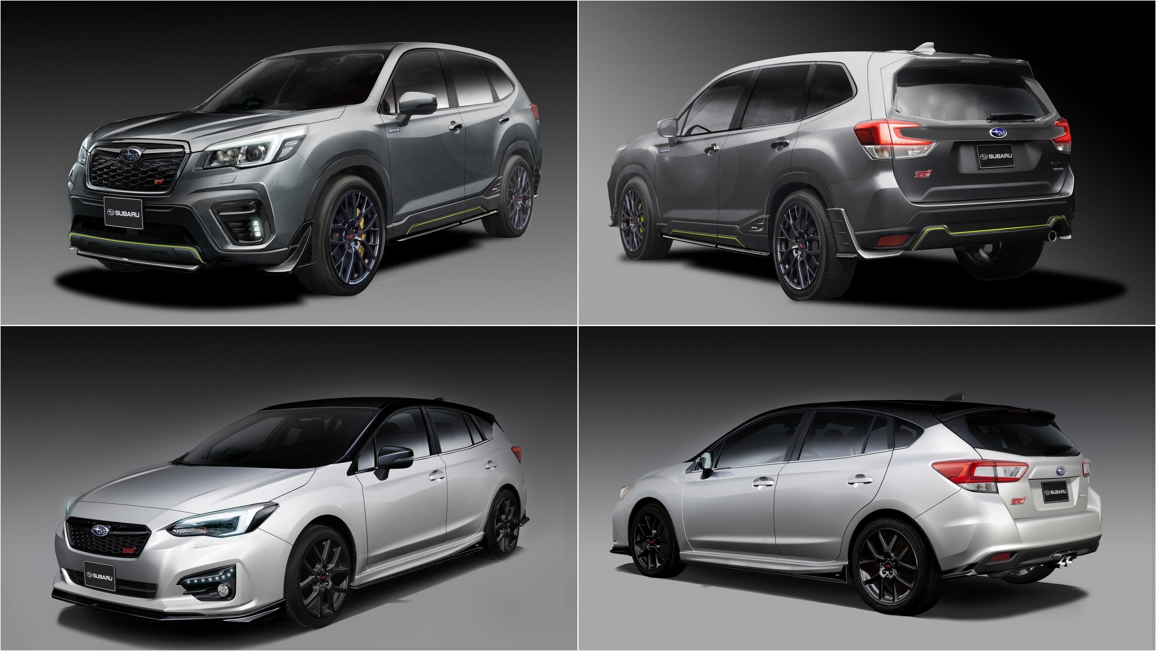 2020 Subaru Forester Turbo, STI, Hybrid >> The Subaru Impreza Sti And Forester Sti E Boxer Concepts Coming To
