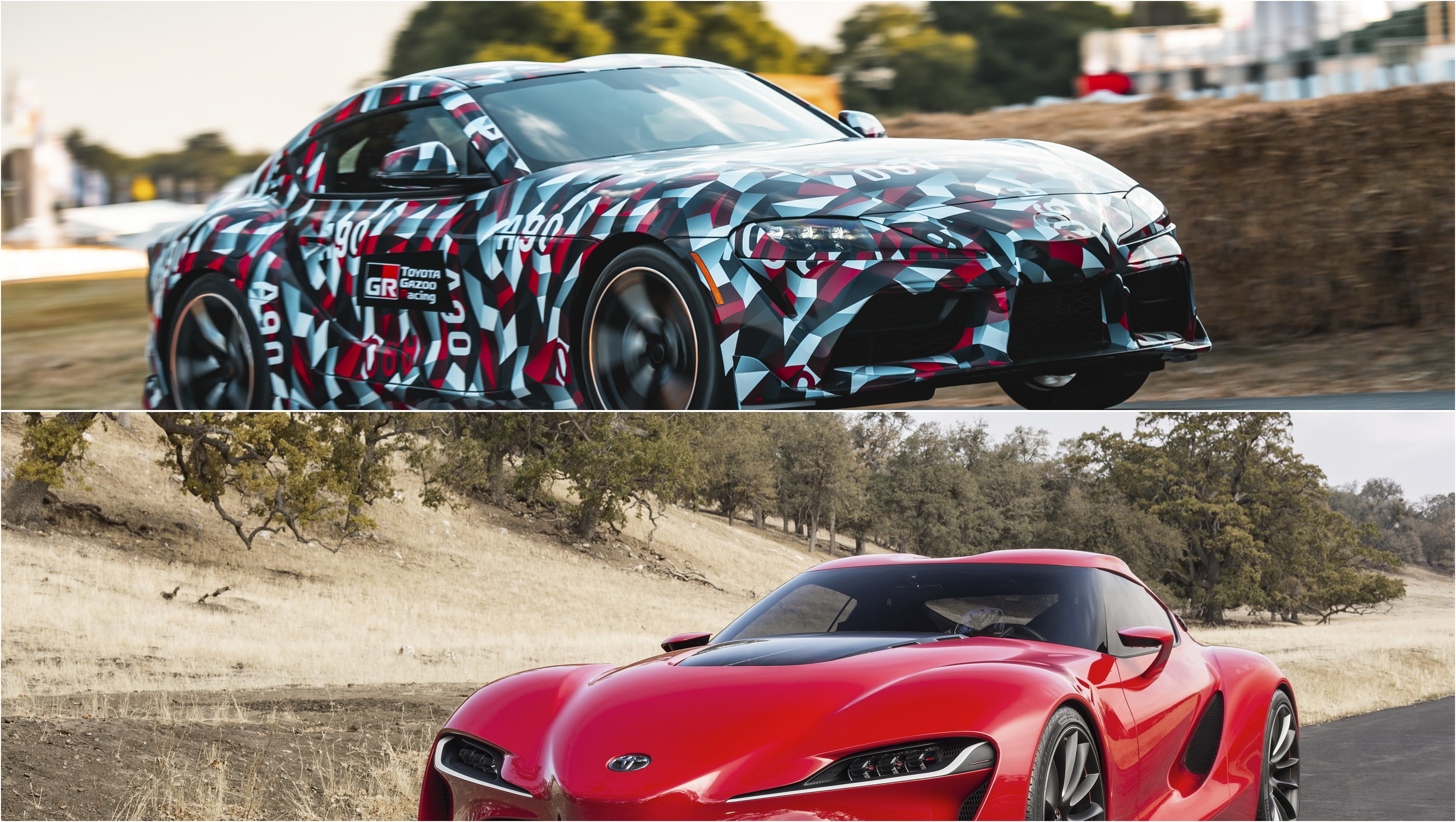 Toyota Highlander Vs Toyota 4Runner >> Visual Comparison: The 2020 Toyota Supra Vs The Toyota FT ...