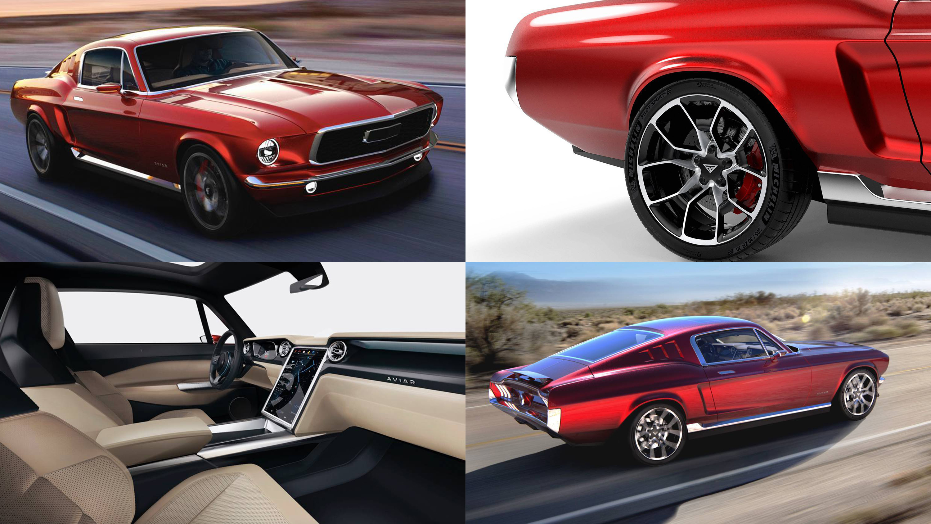 Want An All Electric Ford Mustang Aviar Motors In Russia Might Hook