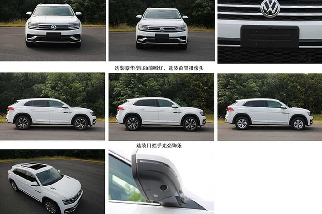 Want To Know What The 2020 Volkswagen Atlas Cross Sport Looks Like Here S Your Leaked Images Top Speed