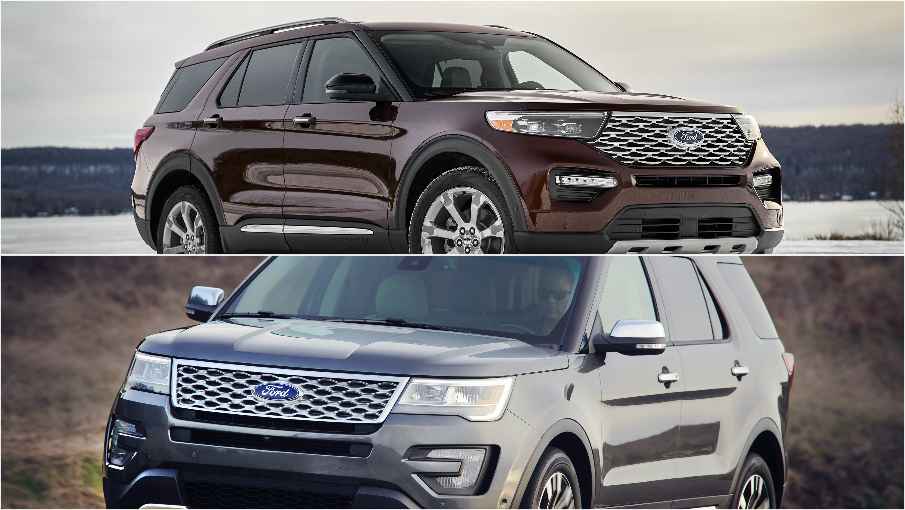 2019 Ford Explorer Vs 2020 Ford Explorer Pictures Photos