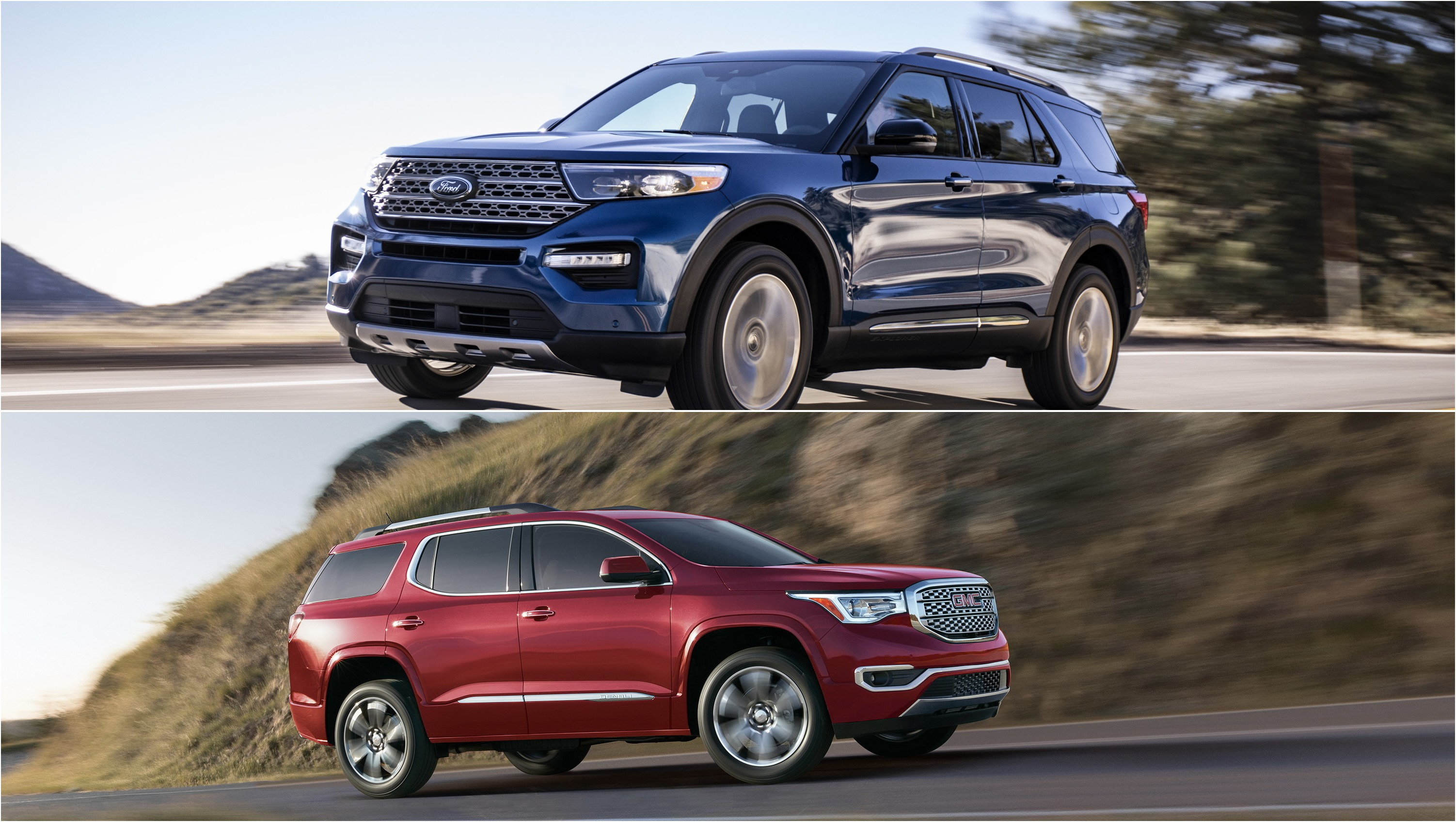 Subaru Vs Honda >> 2020 Ford Explorer Vs 2019 GMC Acadia: How They Compare Pictures, Photos, Wallpapers. | Top Speed