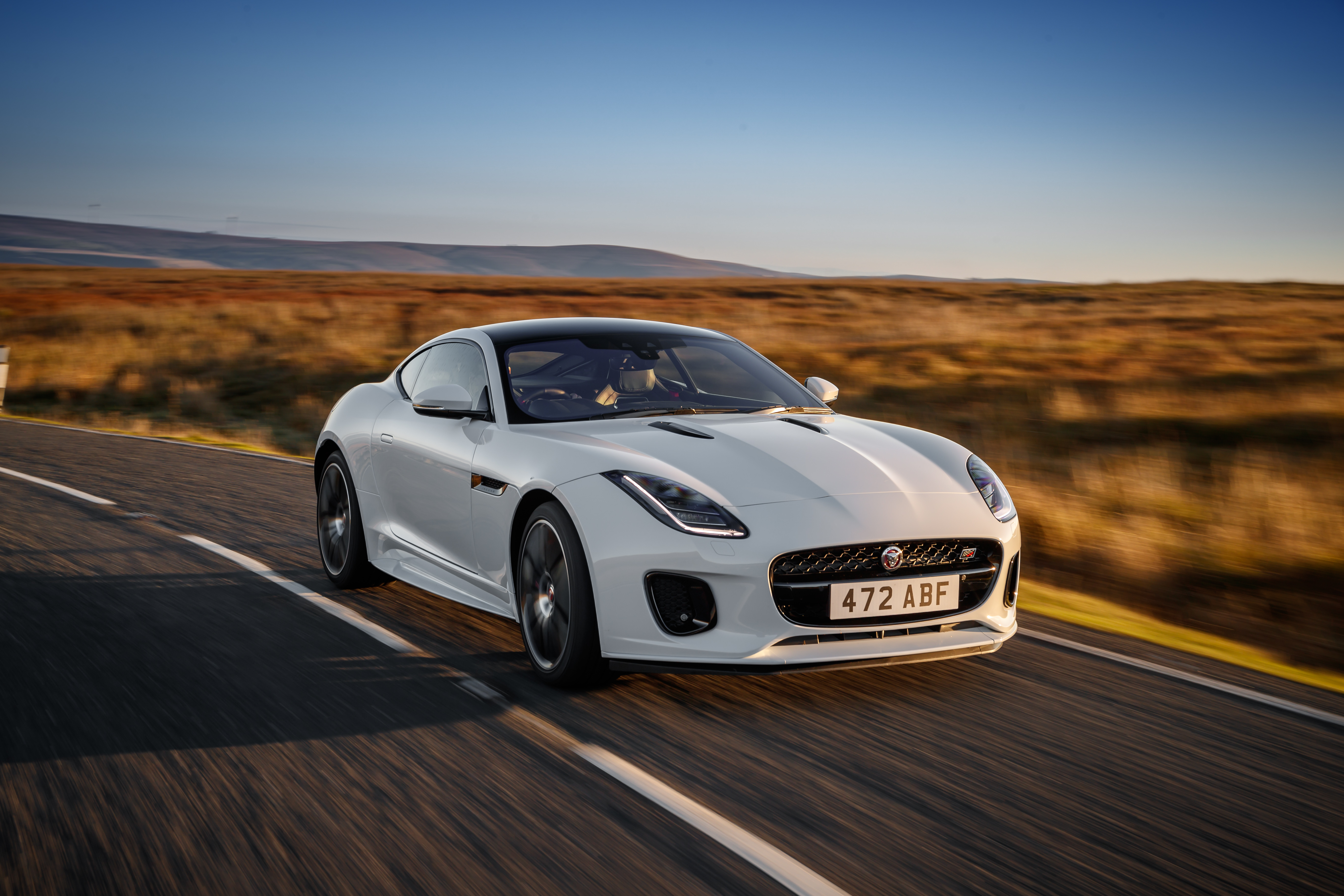 2019 jaguar f-type checkered flag limited edition coupe   top speed