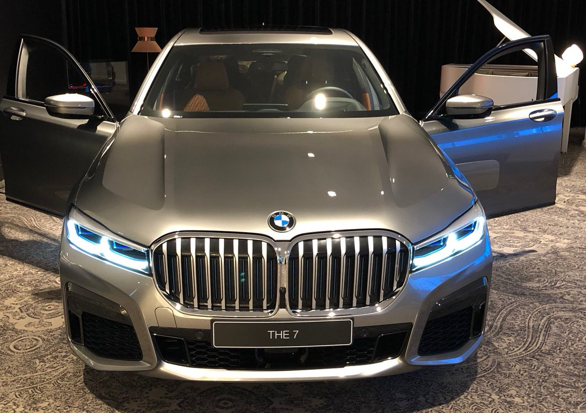 This Leaked Image Of The 2020 Bmw 7 Series Showcases A Grille Larger