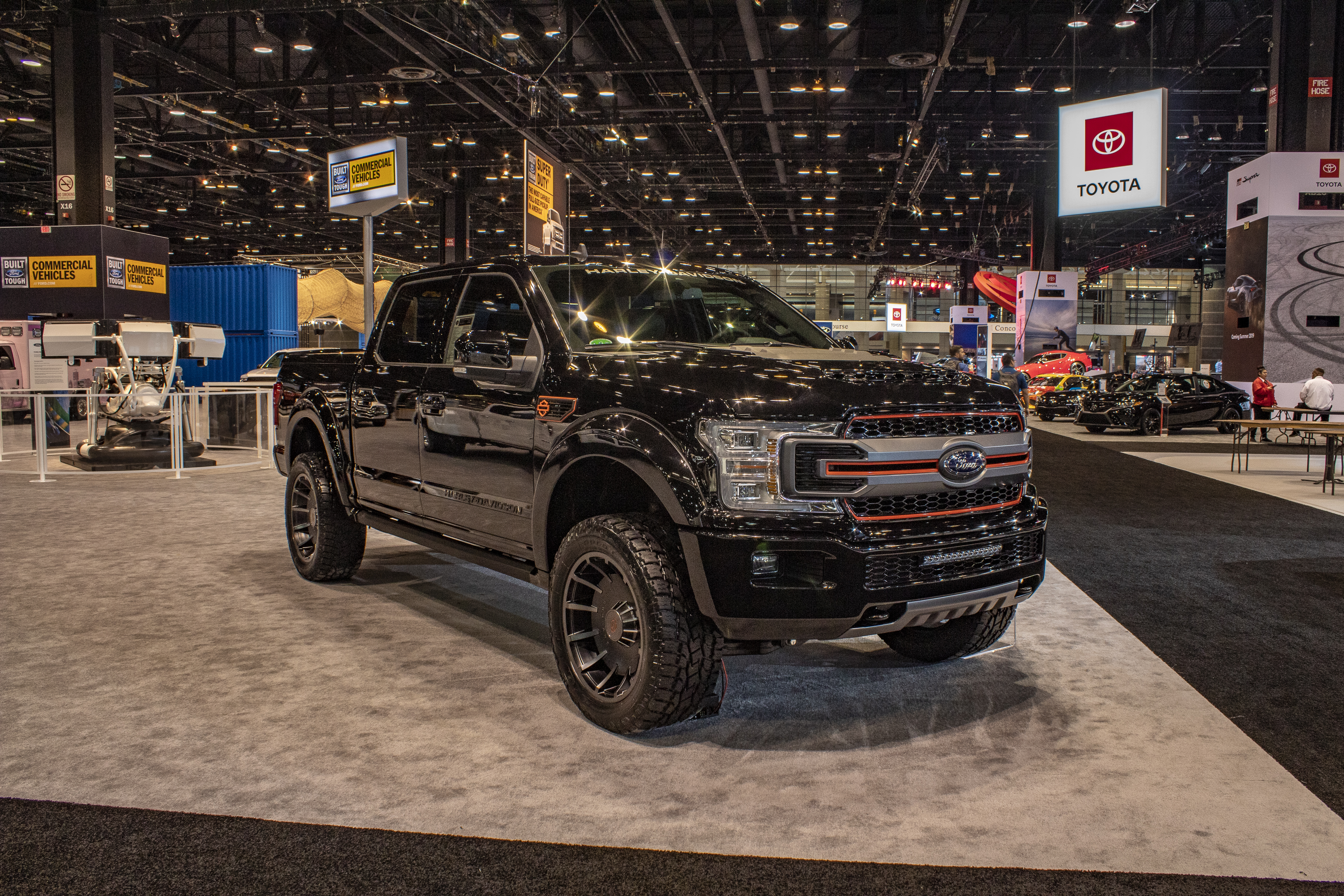 2019 Ford F 150 Harley Davidson Edition Pictures Photos