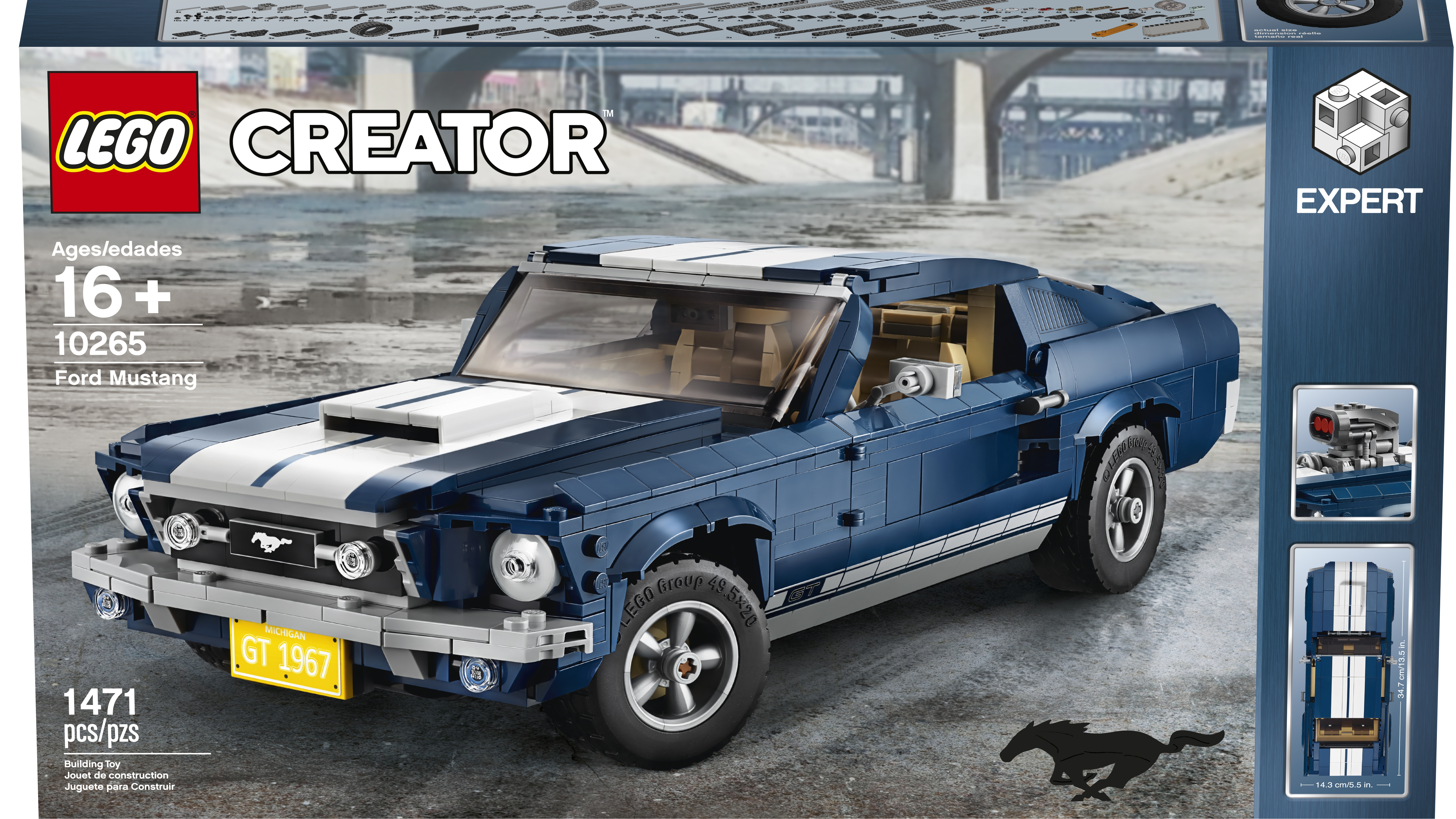 Lego offers classic 1967 ford mustang kit to fulfill your pony car dreams