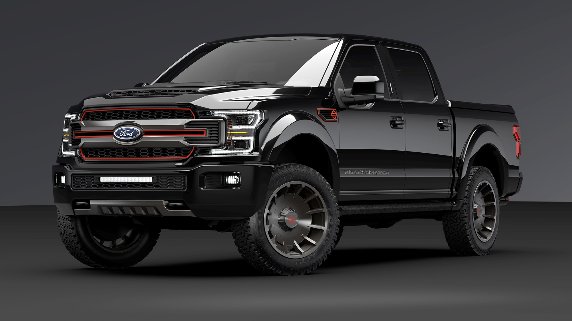 New Ford F150 >> The New Ford F 150 Harley Davidson Is A Fat Boy On Four