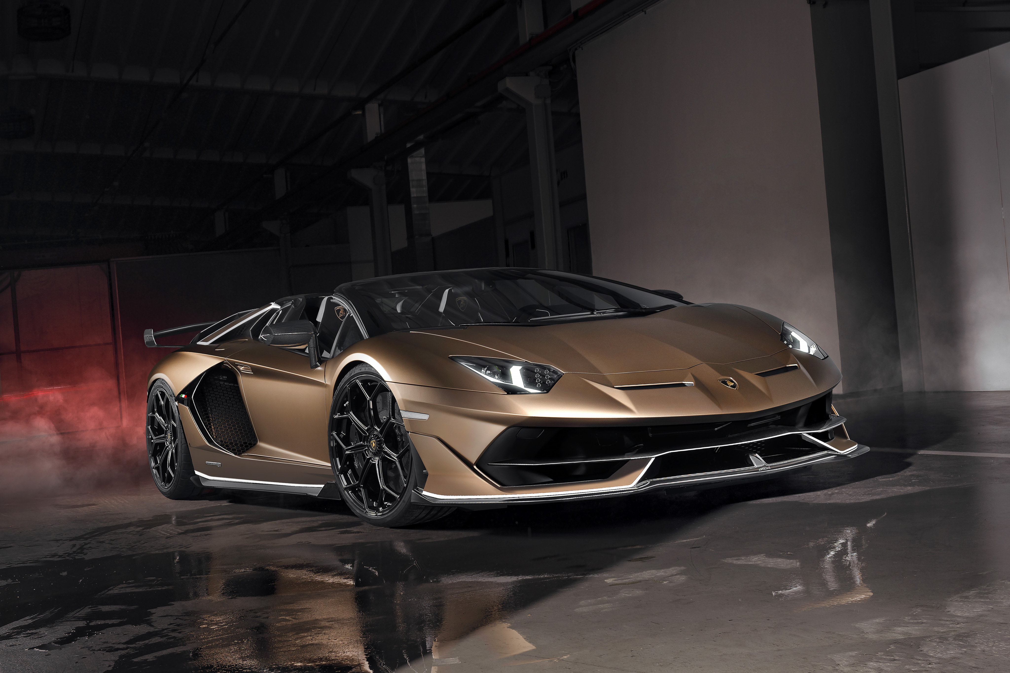 The 2020 Lamborghini Aventador Svj Roadster Is Just A Hair