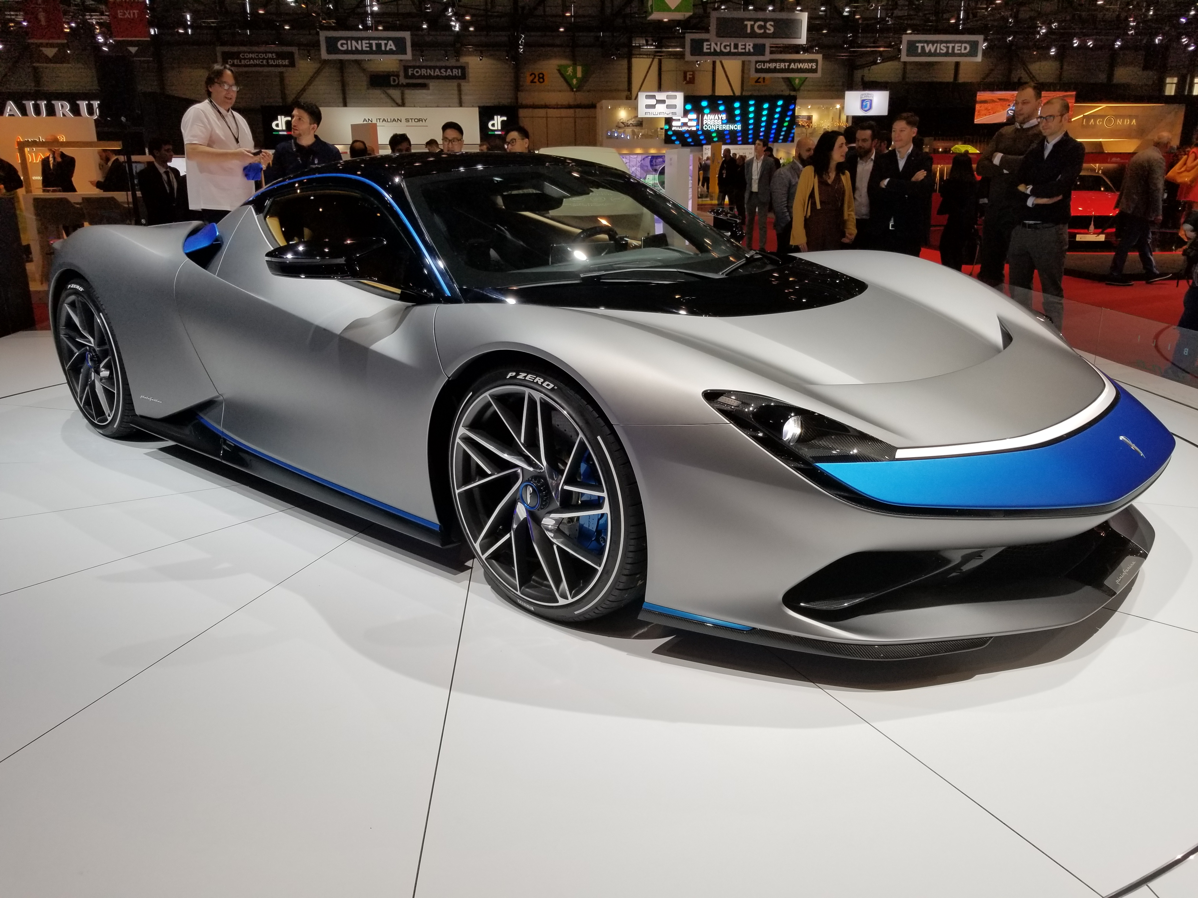 The 1,900 HP 2020 Pininfarina Battista Can Touch 62 MPH In Less Than Two Seconds! Pictures ...