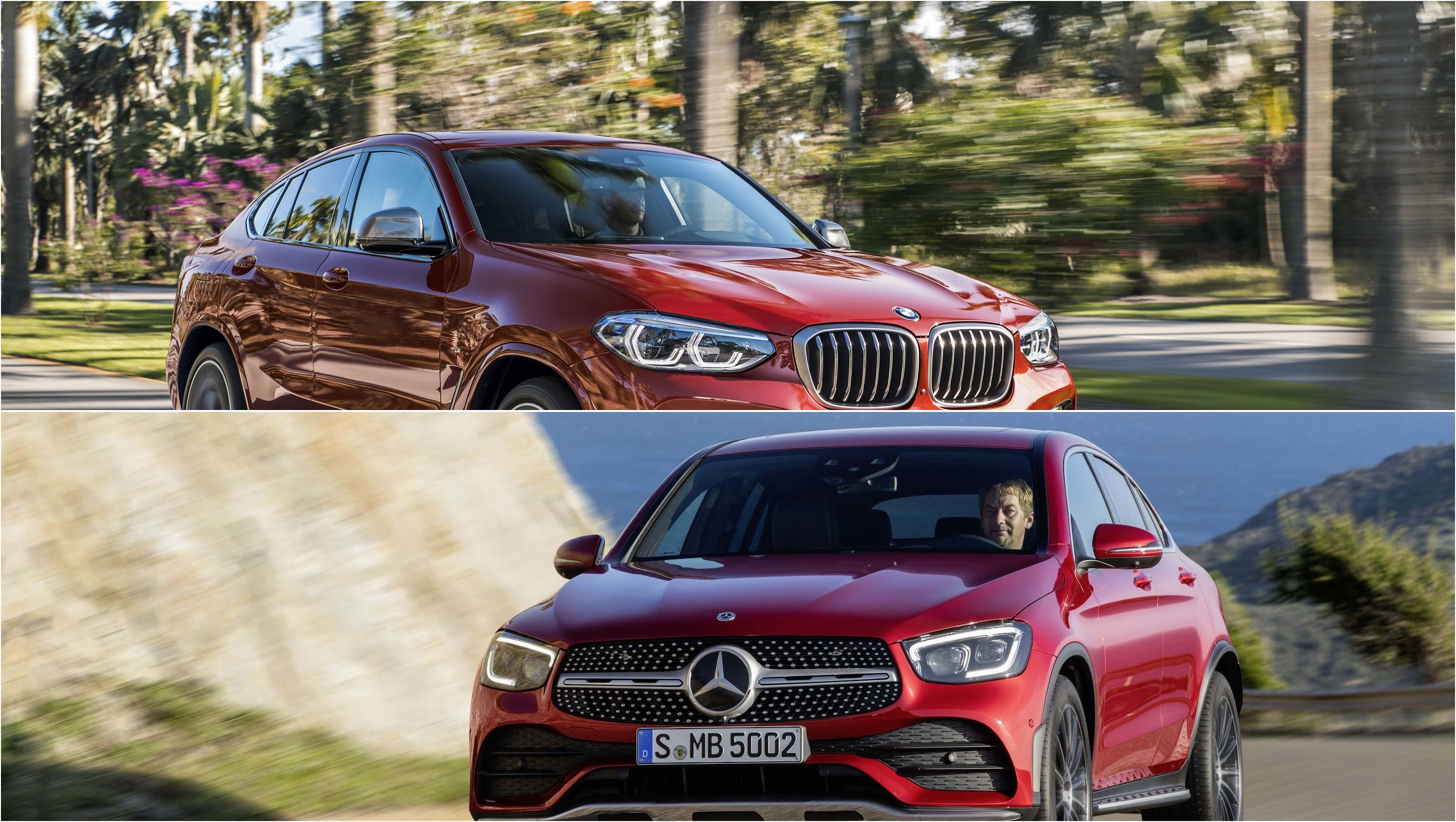 Video 2020 Mercedes Benz Glc Coupe Vs 2019 Bmw X4 Top Speed