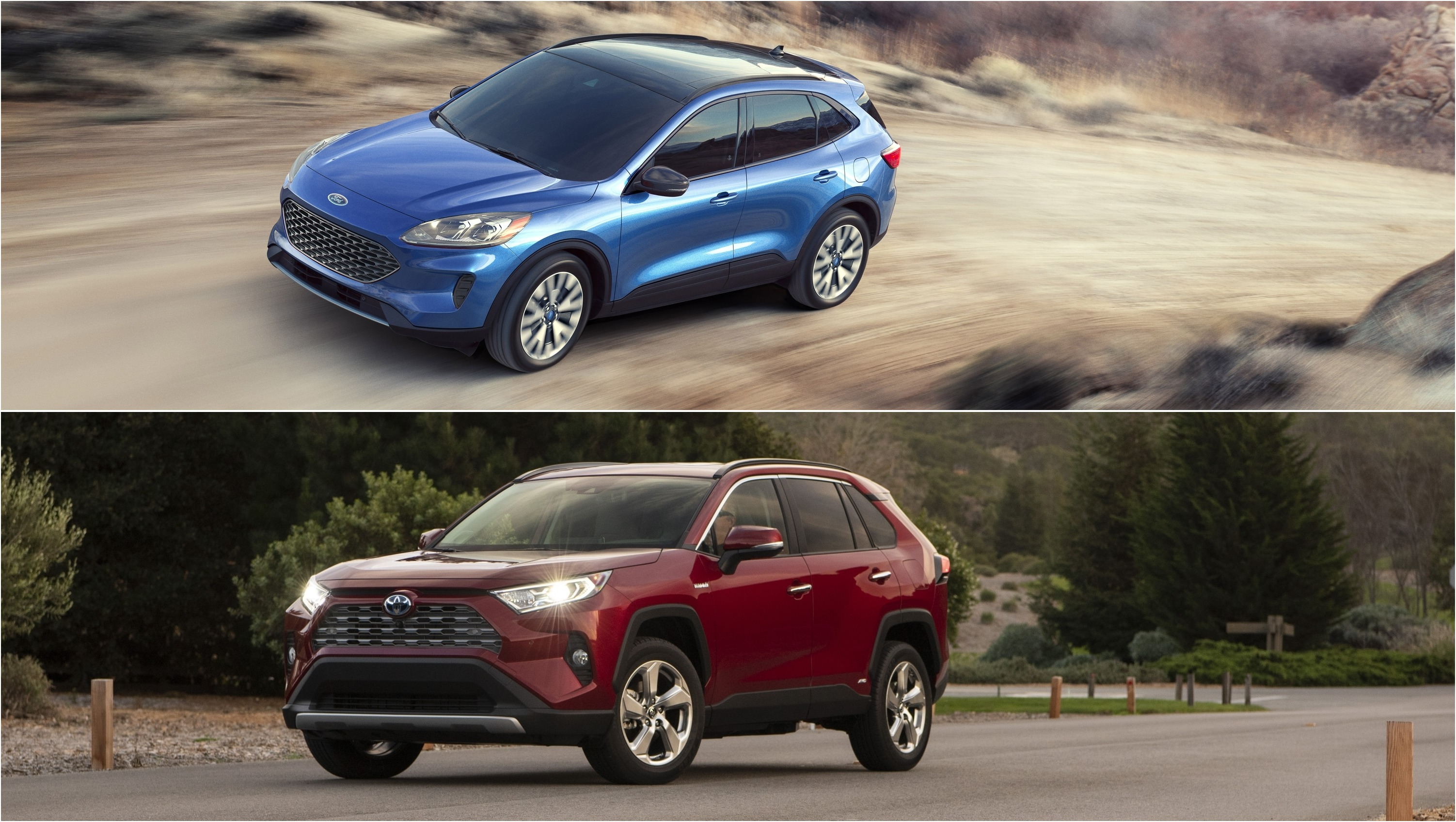 2020 ford escape  kuga  vs 2020 toyota rav4 pictures  photos  wallpapers