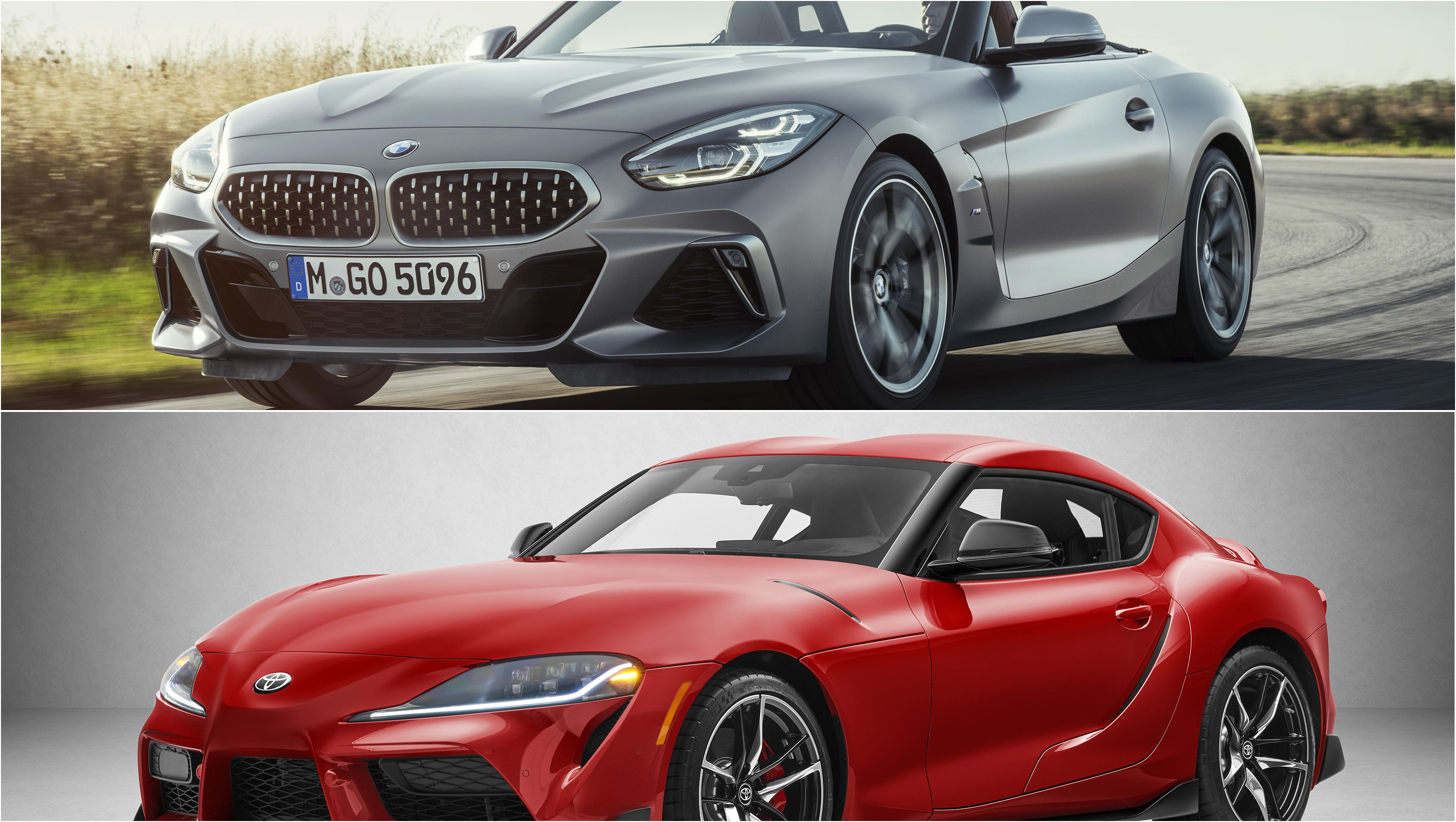 2020 toyota supra vs  2019 bmw z4 pictures  photos  wallpapers