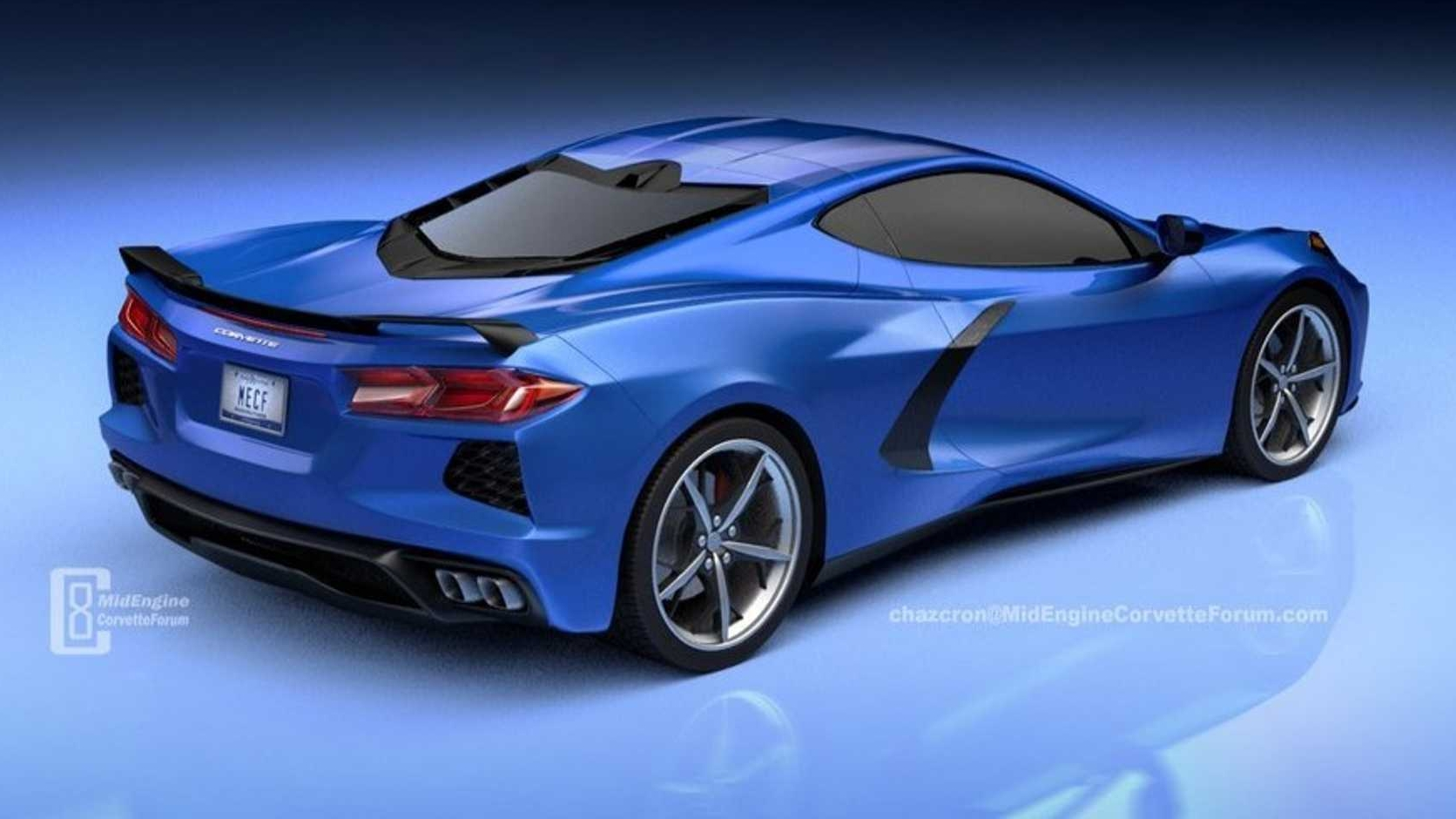 New Rendering Of The Mid Engined 2020 Chevy C8 Corvette Gives Us A