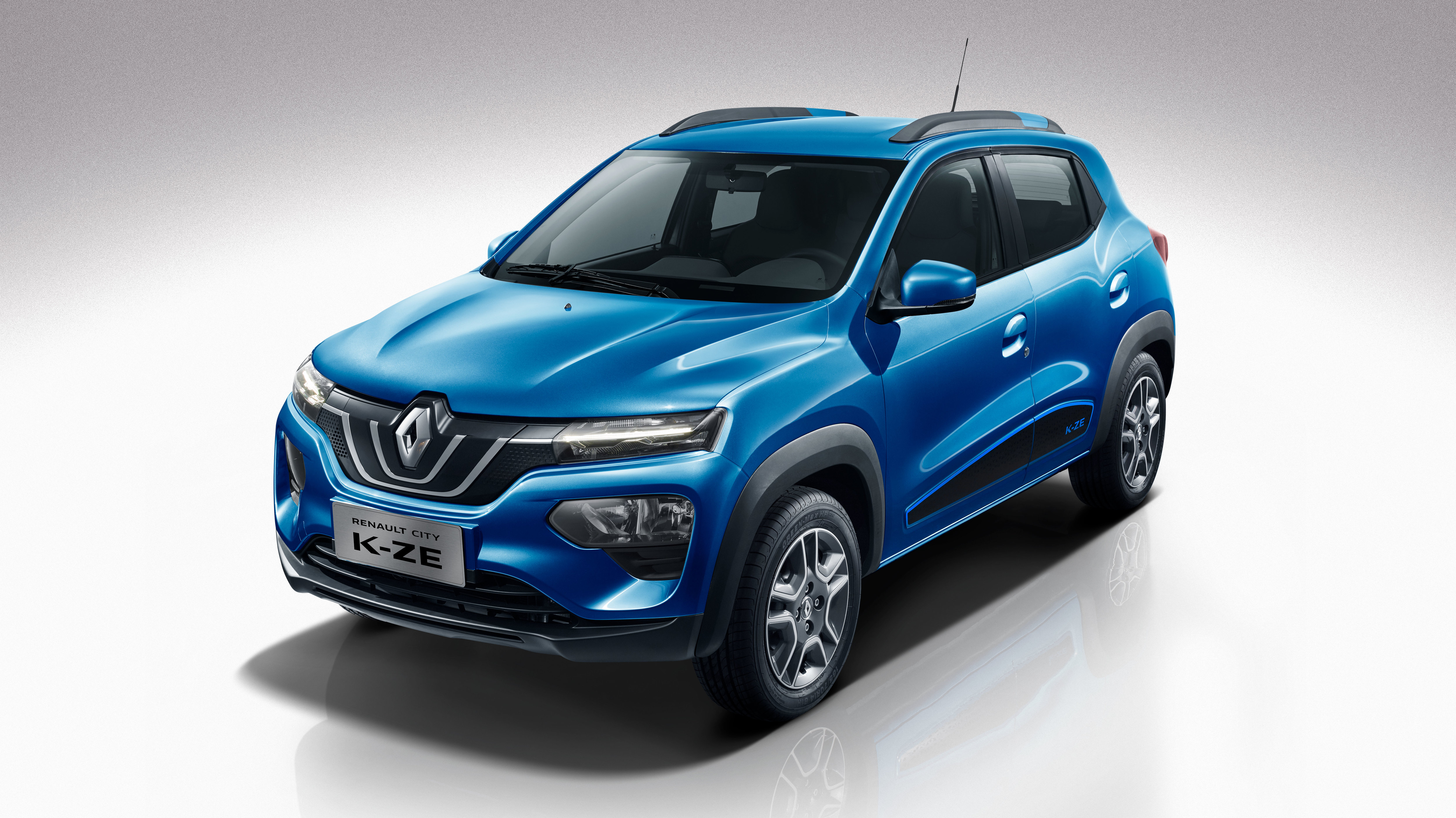 The 2020 Renault K-ZE EV Showed Up In Shanghai Ready For ...