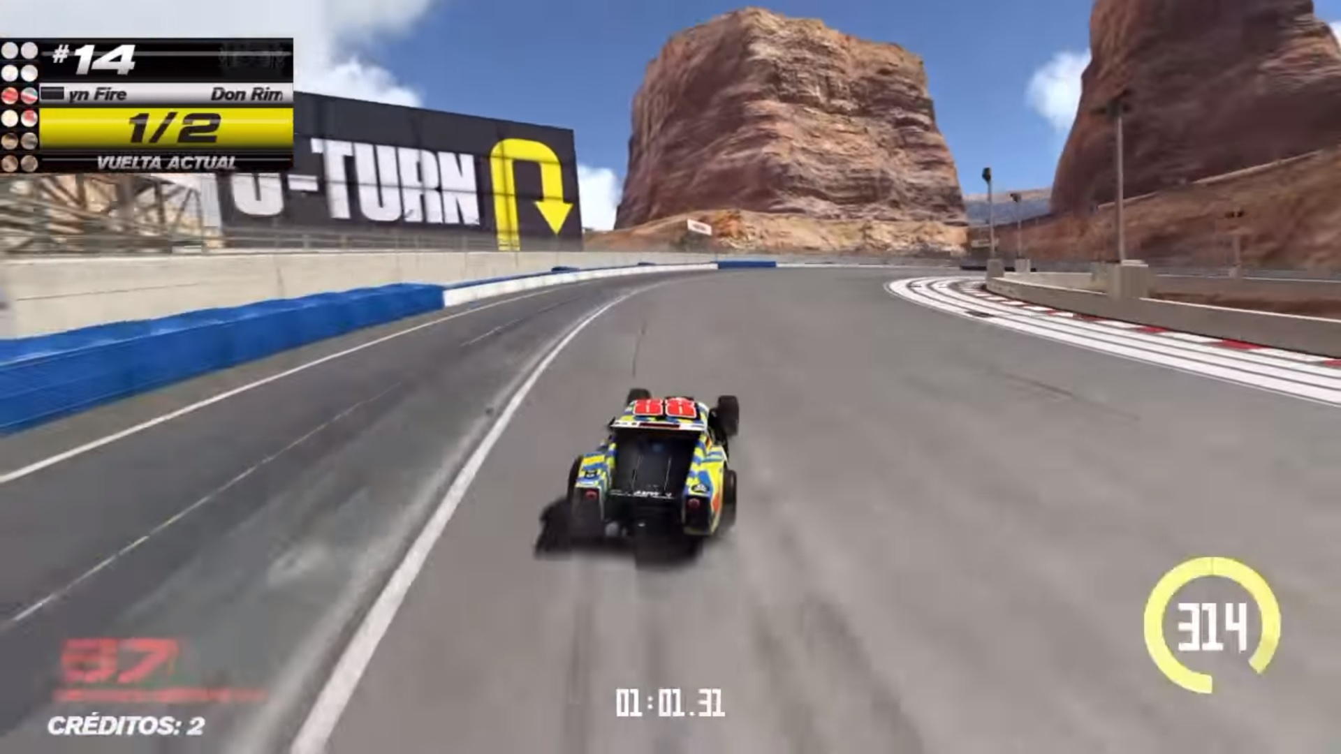 Someone Made Art With TrackMania's Track Builder And
