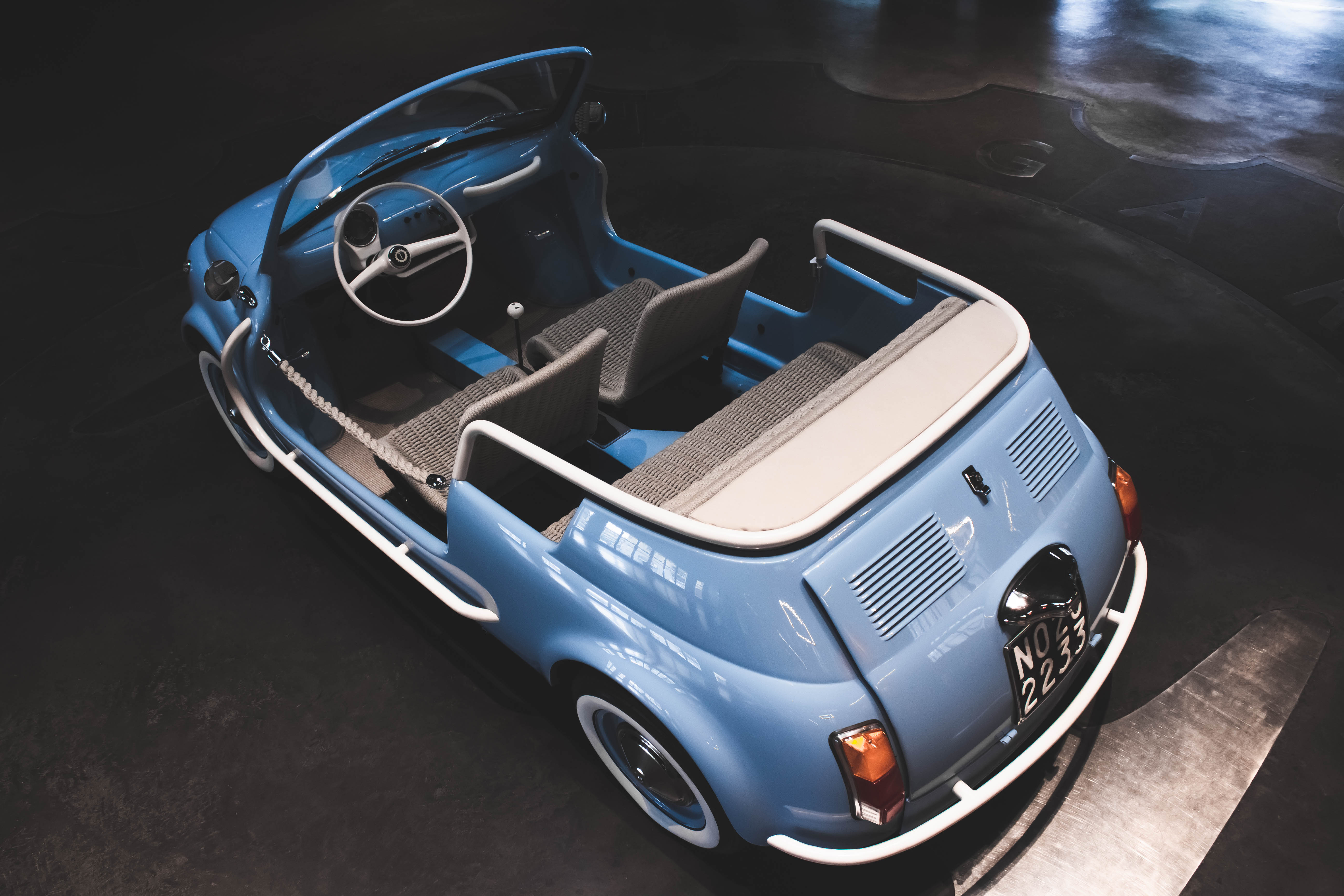 Fiat 500 Jolly Icon E By Garage Italia Top Speed