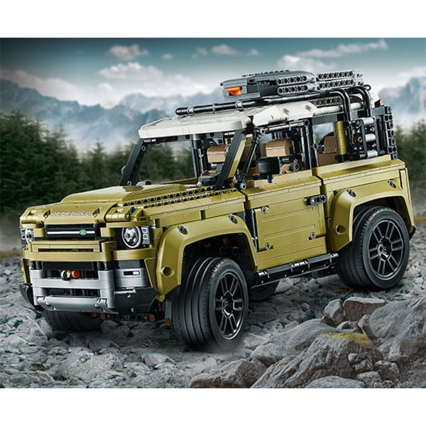 2020 Land Rover Defender: Leaked LEGO Technic Kit Gives Us Our First Glimpse At The