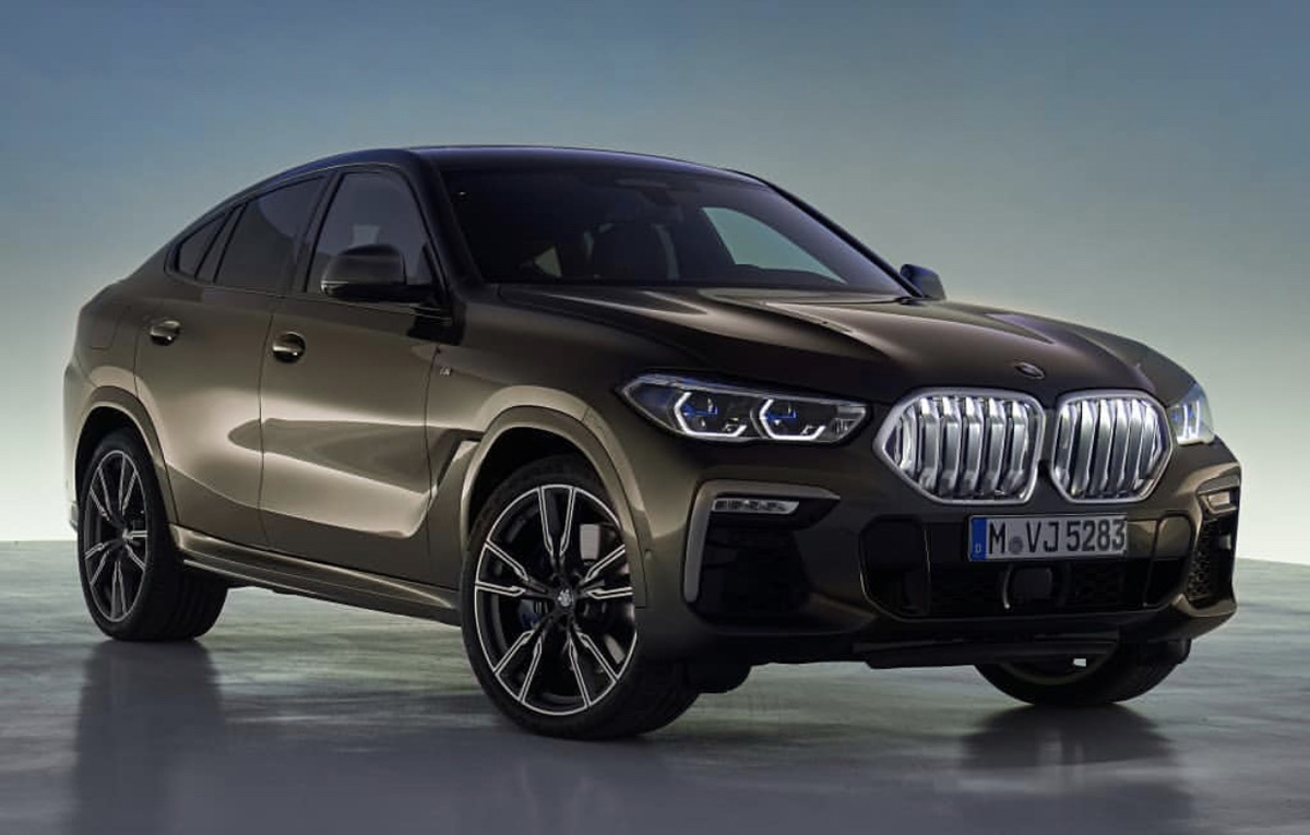 The New BMW X6 Features A New, Huge Grille, Remains The