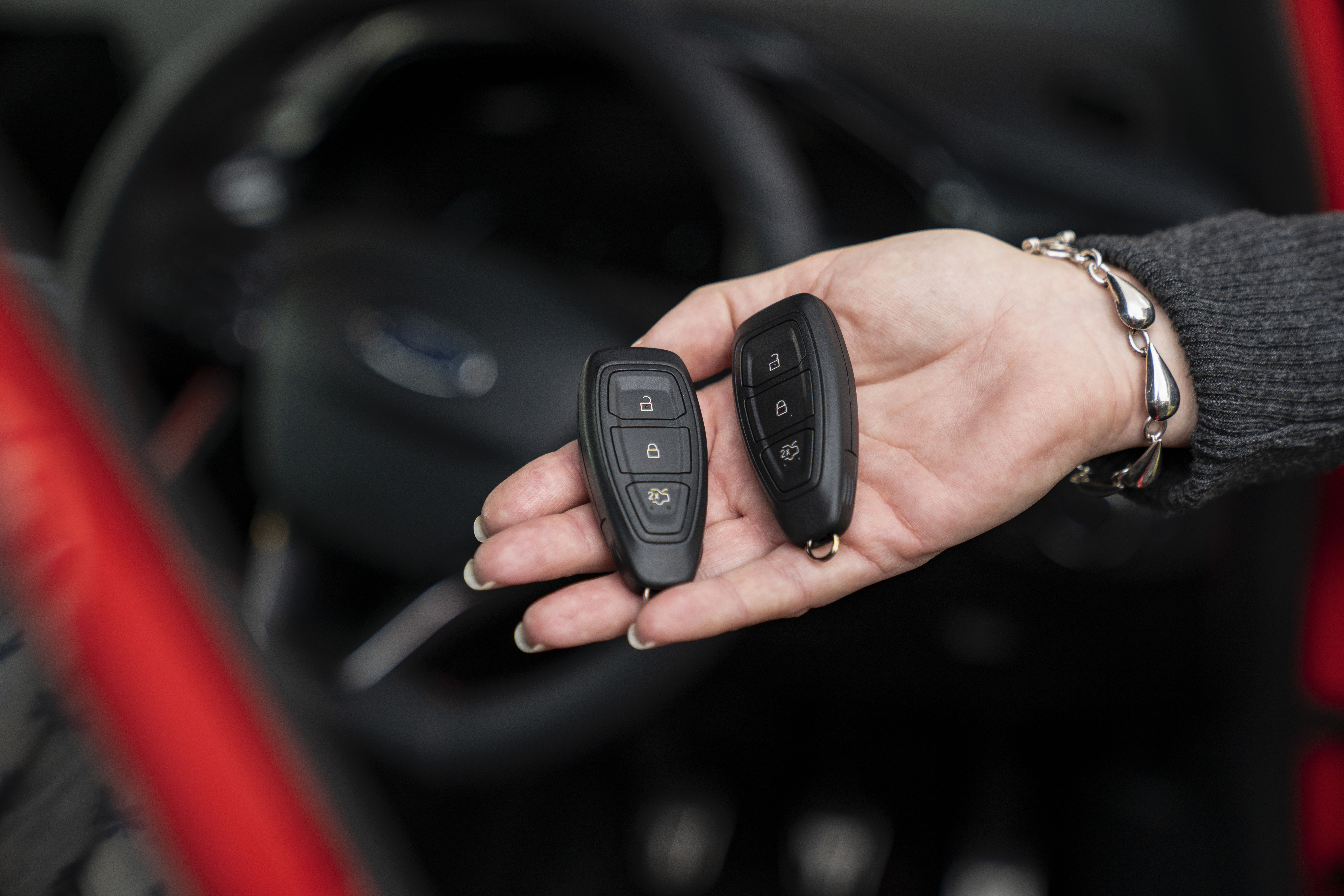 Tesla Model S Key Fob Functions