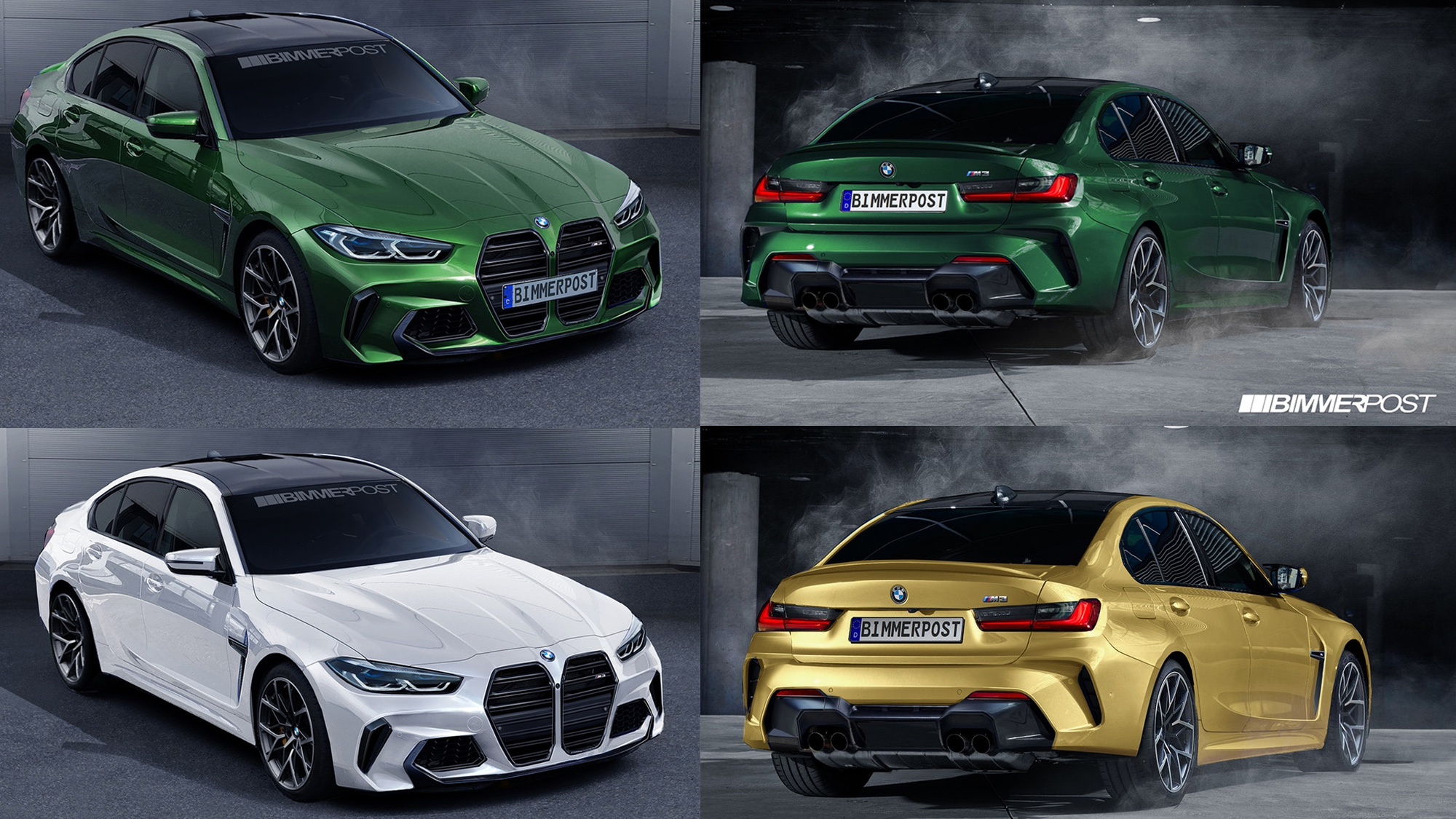 Is This Really What The G80 Bmw M3 Will Look Like Top Speed
