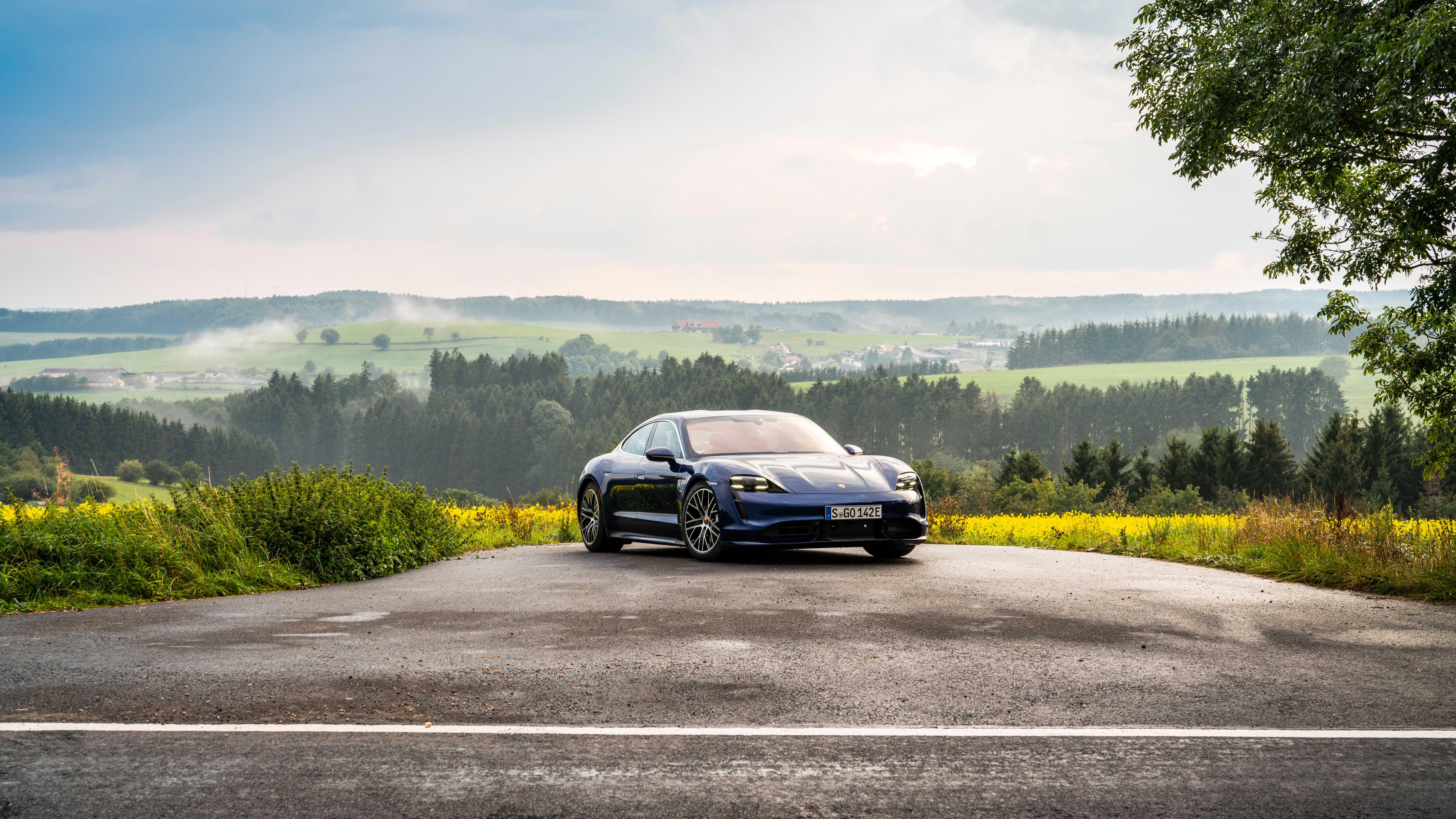 The Porsche Taycan Turbo S Might Have Horrible Range But Hot Damn Is It Fast