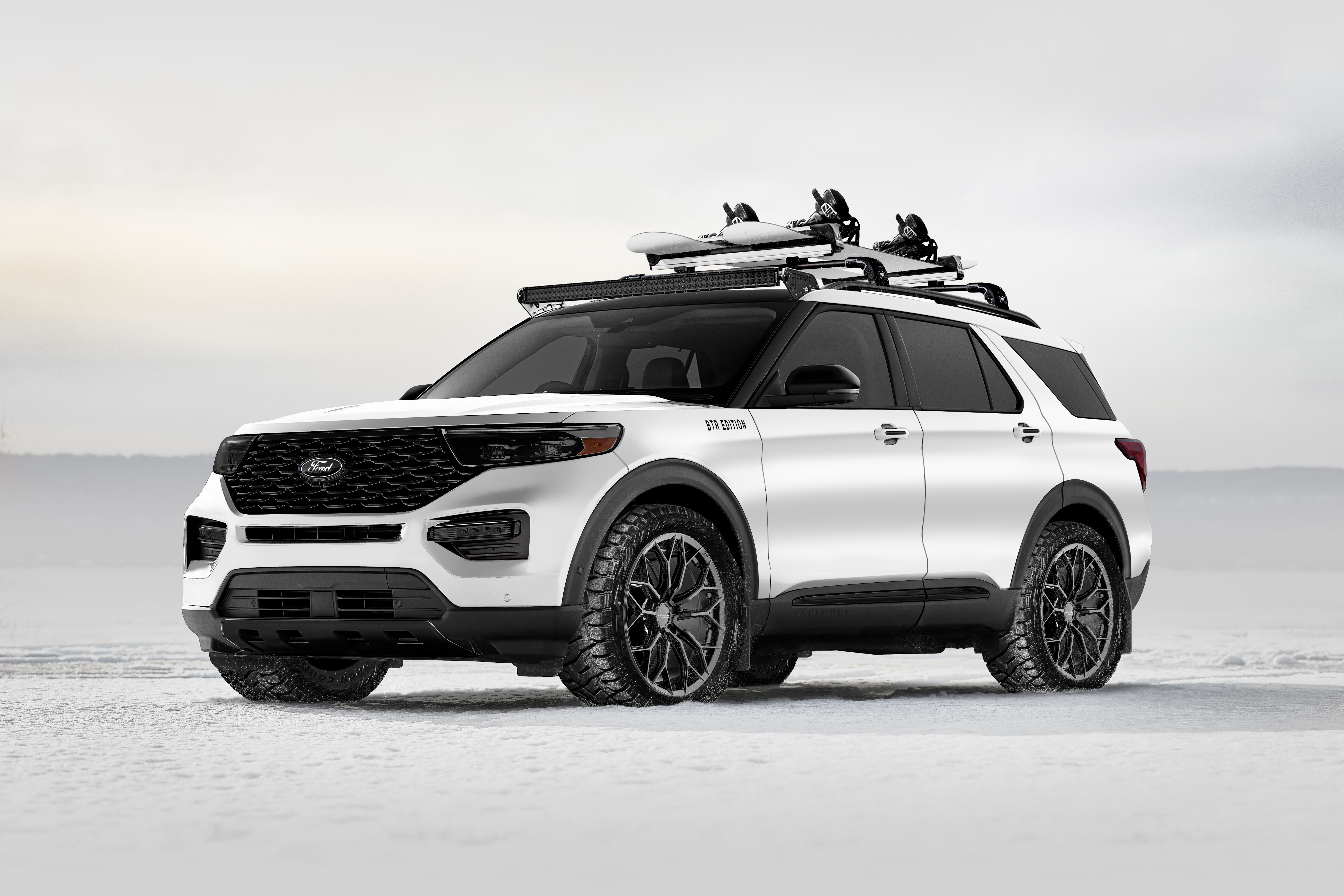 Ford S Sema Bound Suv Lineup Will Feature Portable Fridges Camping Tents And Video Cameras Top Speed
