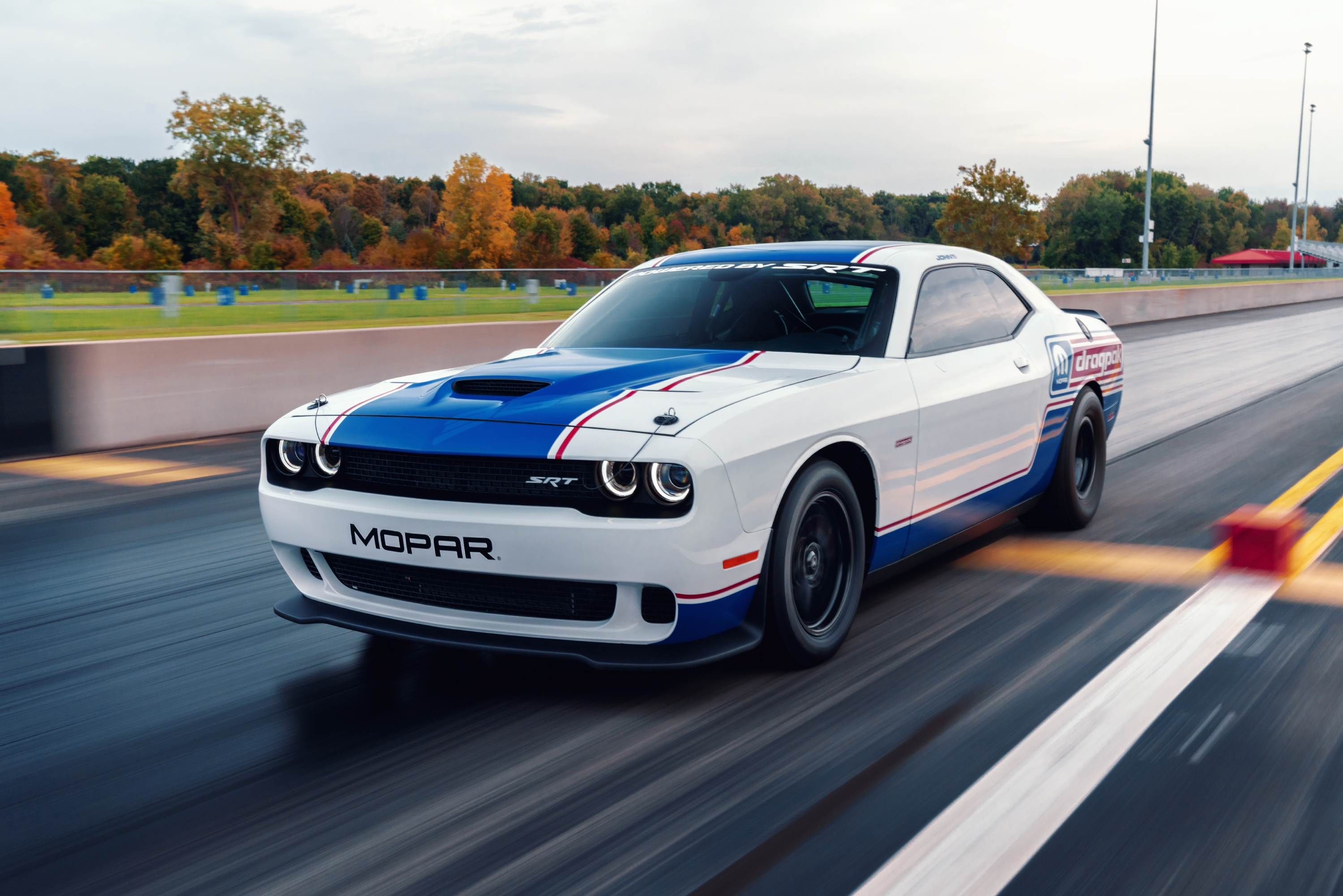 2020 Dodge Challenger Drag Pak By Mopar And Srt