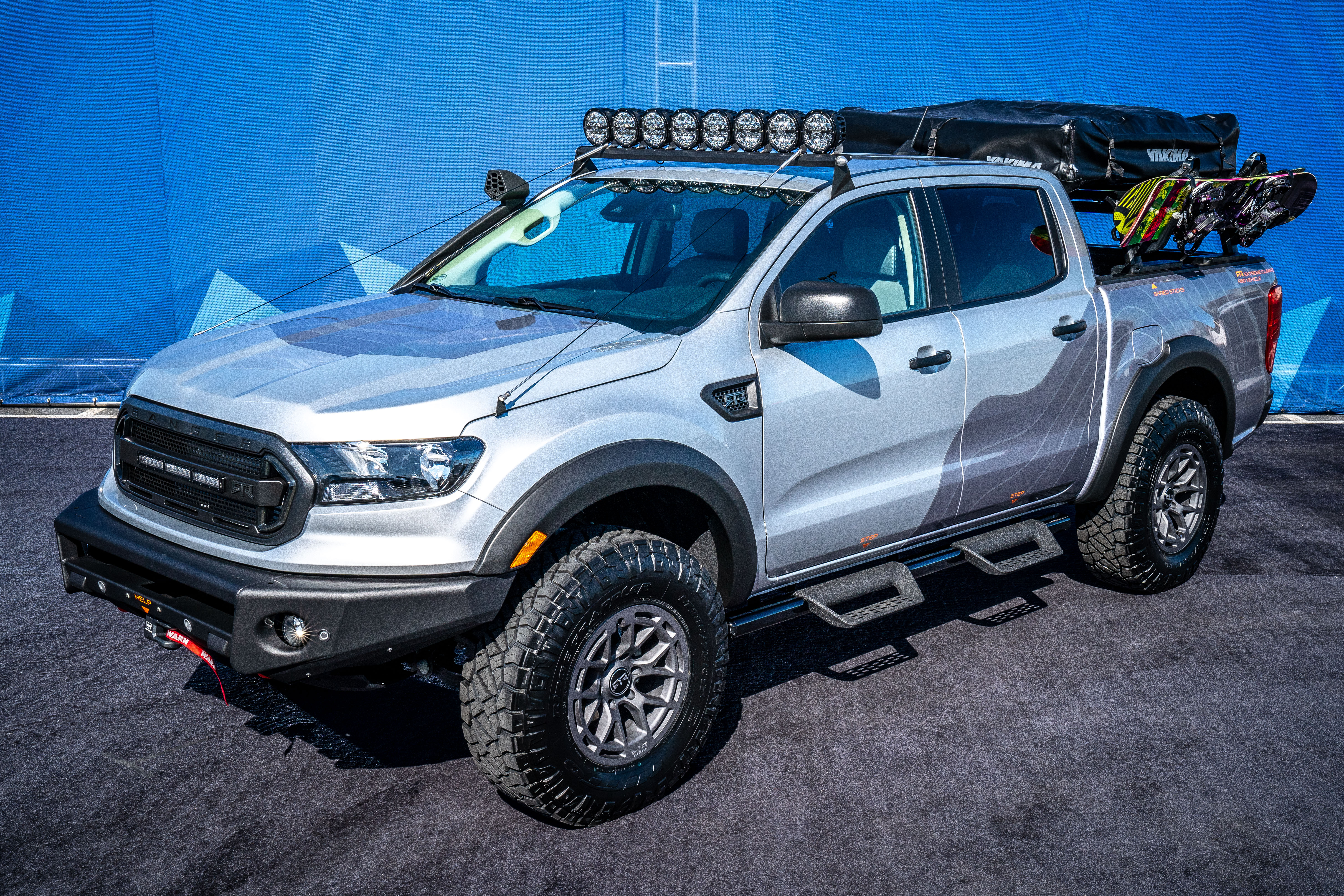 2019 Ford Ranger Rambler Concept By Rtr
