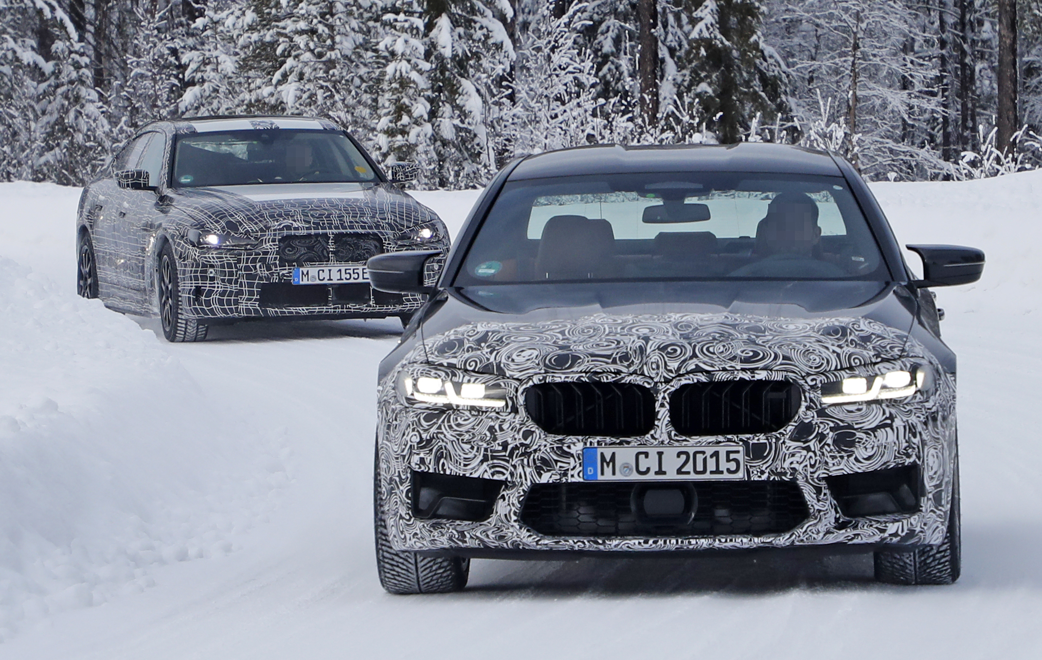 2021 Bmw M5 Spy Shots And Review