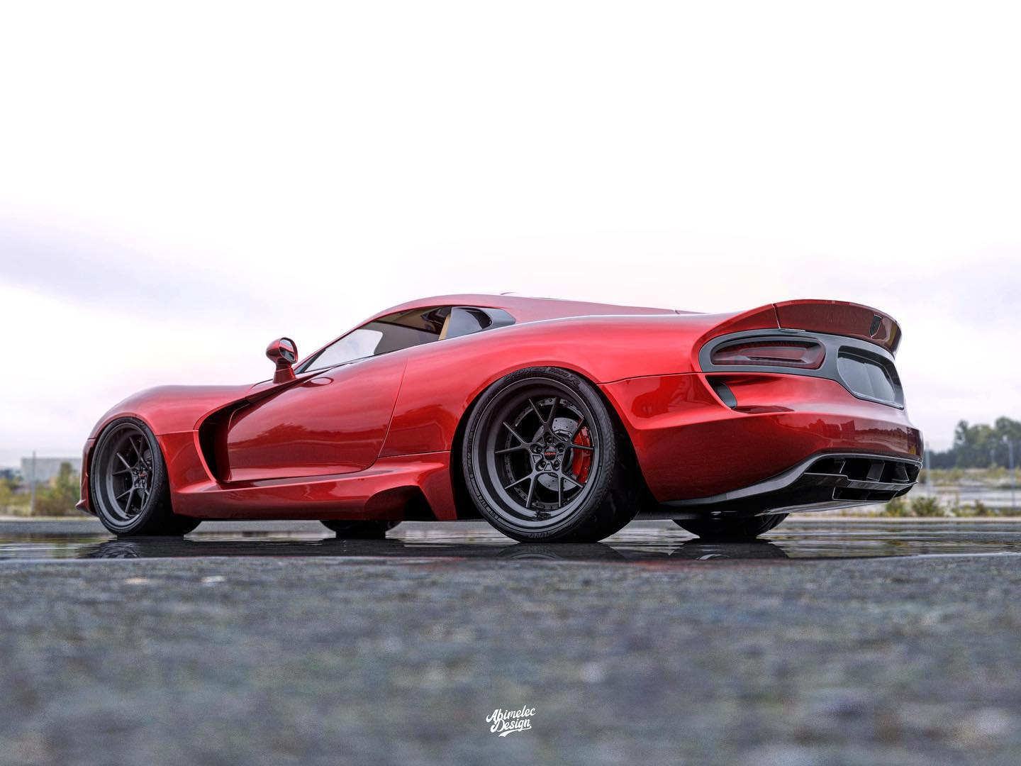 A New Mid Engine Dodge Viper Rendering Will Make Even Haters Pray For A Comeback