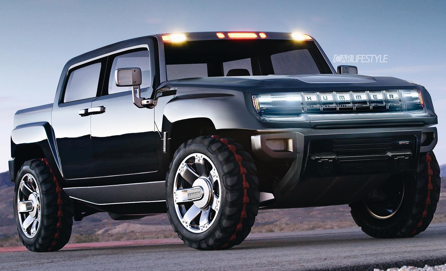 new 2021 gmc hummer ev rendering looks just about right