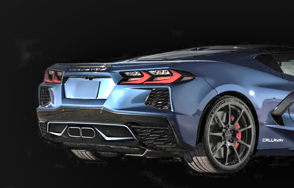 Callaway Is Working On A Body Kit For The C8 Chevy Corvette And You Ll Probably Want It