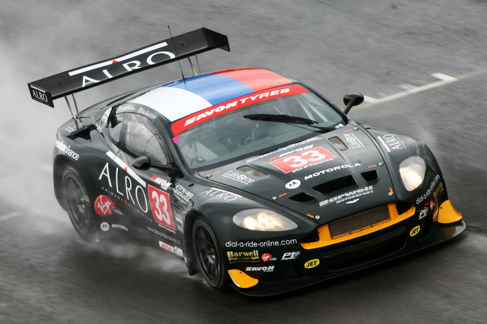 The Time Aston Martin Threw A Tracksuit On The Db9