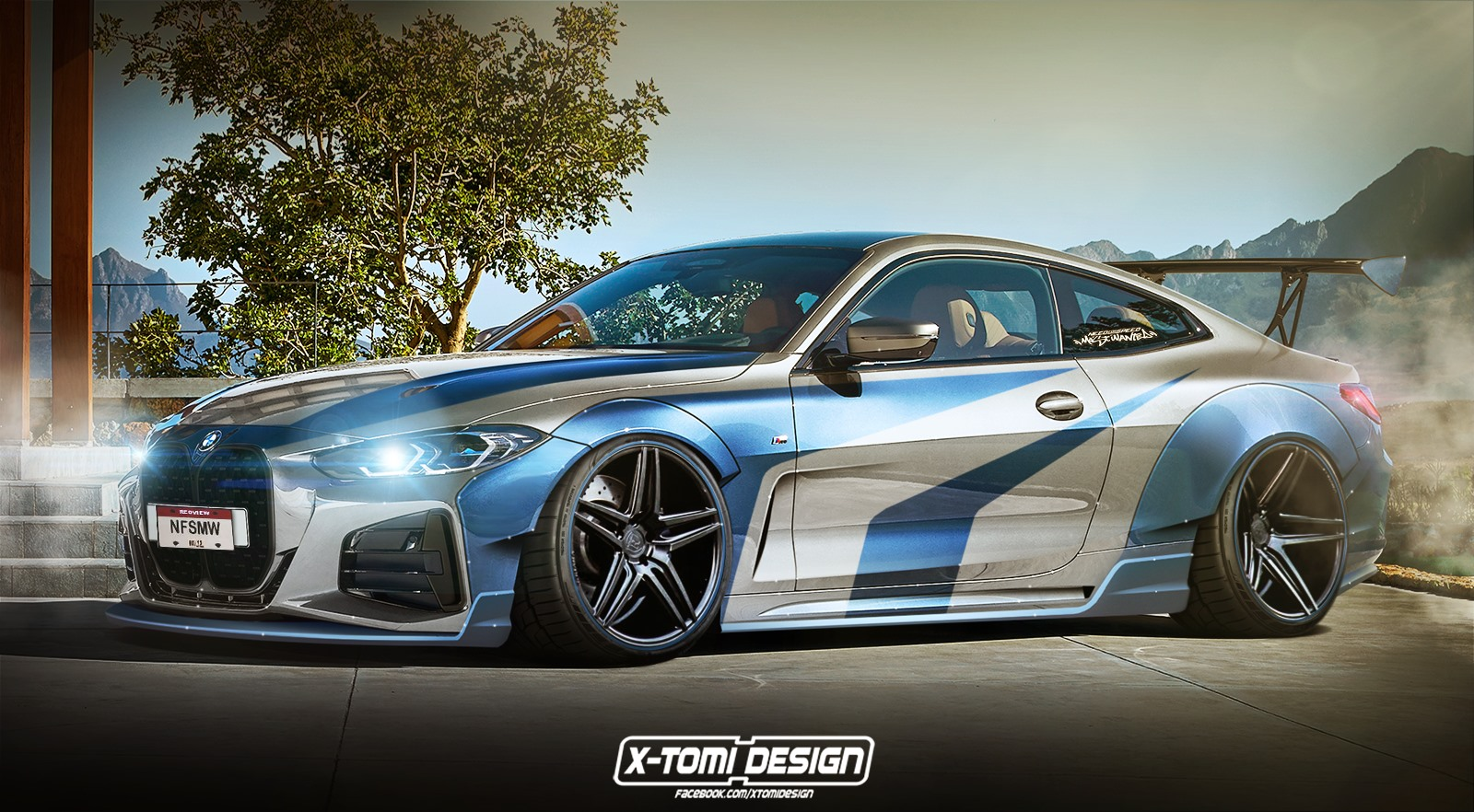 The Rendering Of The Bmw M440i Most Wanted Has Need For Speed