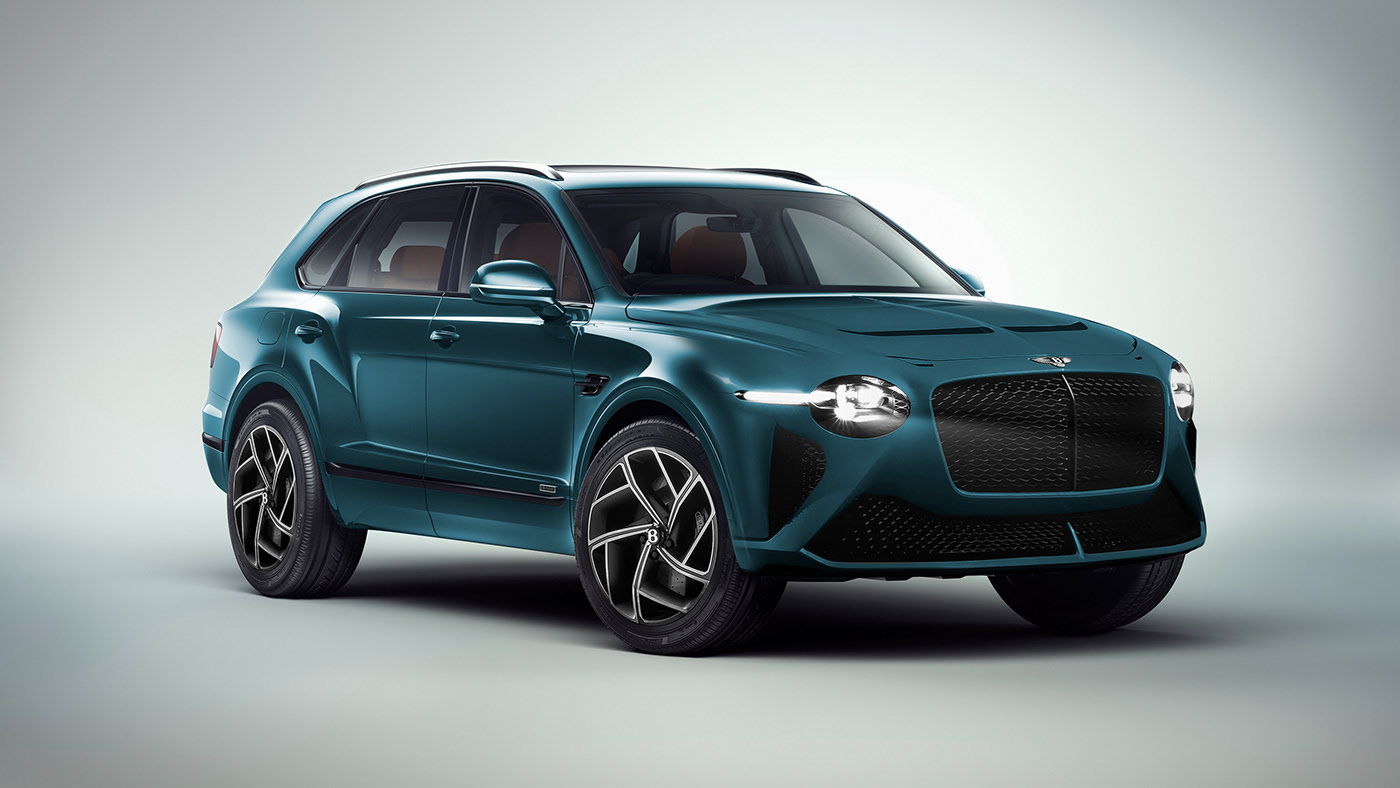 This Rendering Shows What The Facelifted 2021 Bentley Bentayga Should Look Like