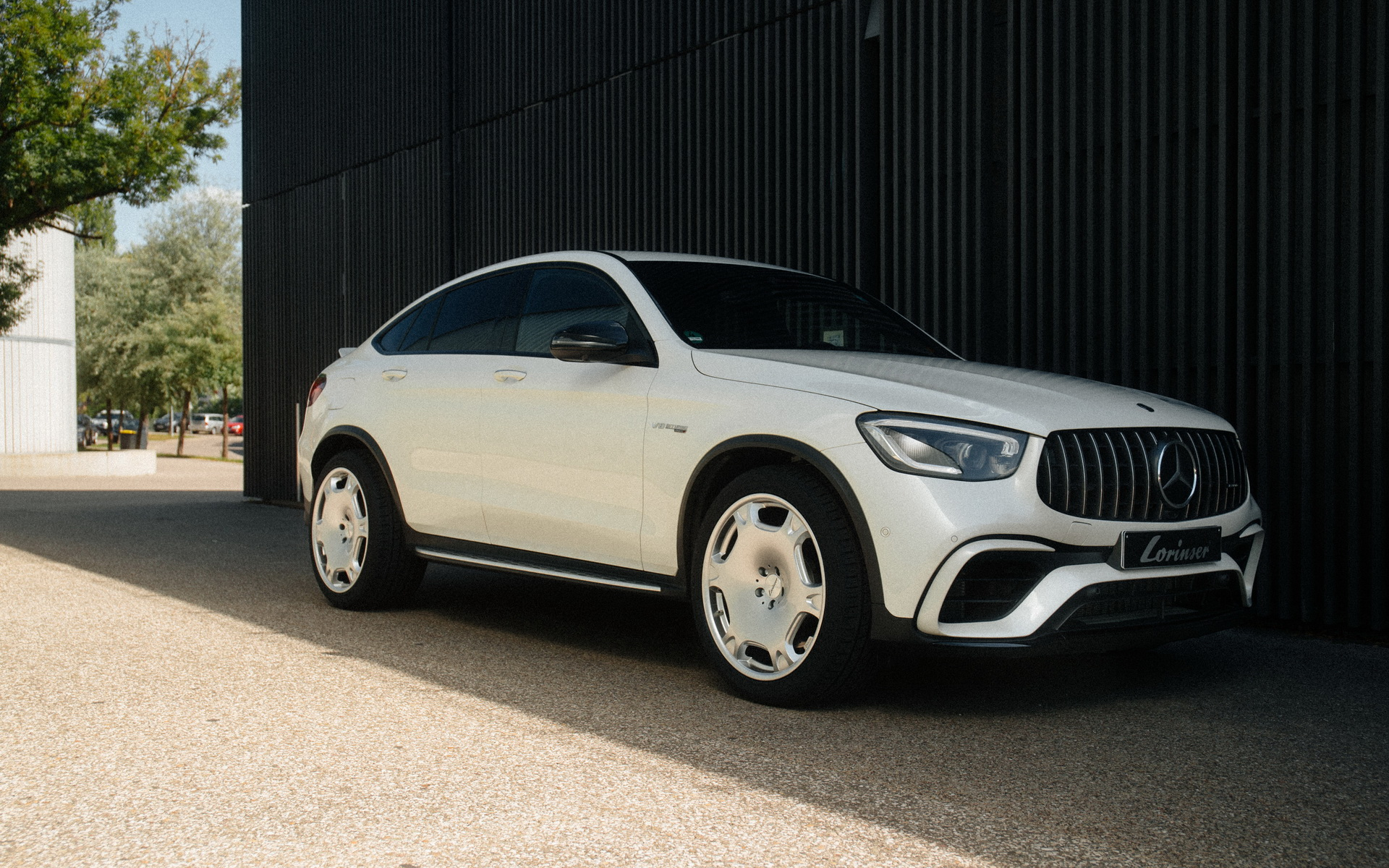 Mercedes Amg Glc 63 S Coupe By Lorinser Ugly Car Ugly Wheels More Power