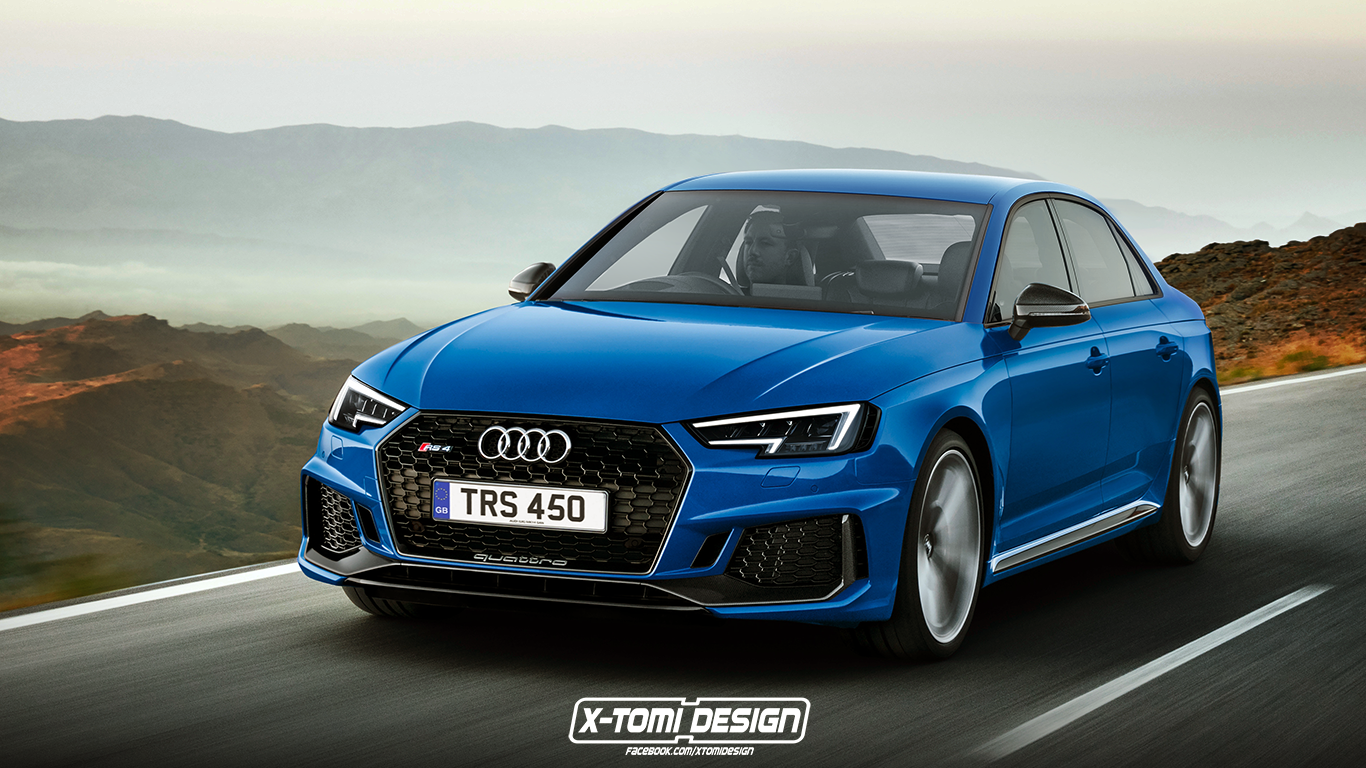 2018 Audi Rs4 Sedan Pictures Photos Wallpapers Top Speed